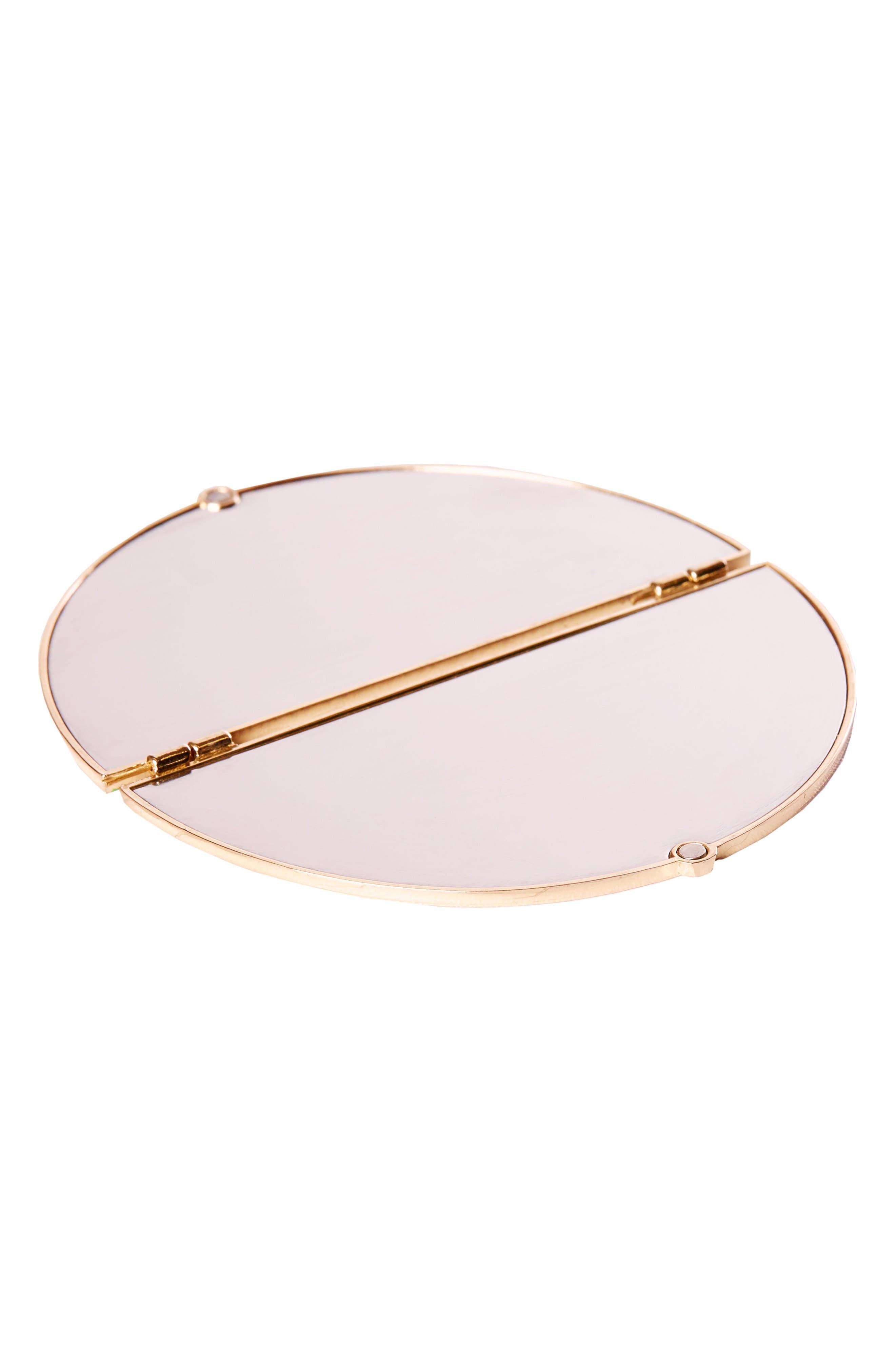 Skinny Dip Compact Mirror,                             Alternate thumbnail 2, color,                             No Color