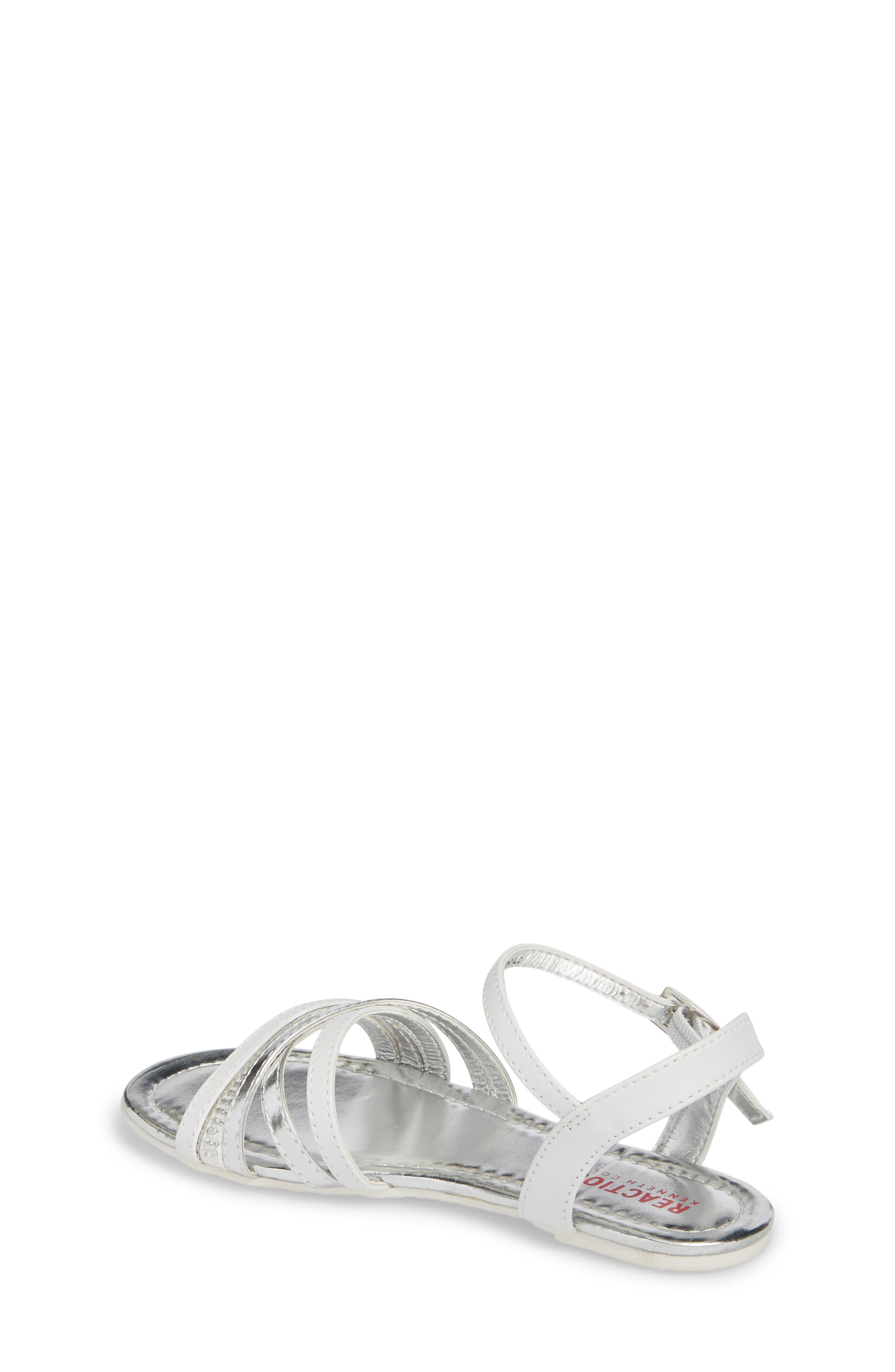 Kiera Getty Crystal Sandal,                             Alternate thumbnail 2, color,                             White