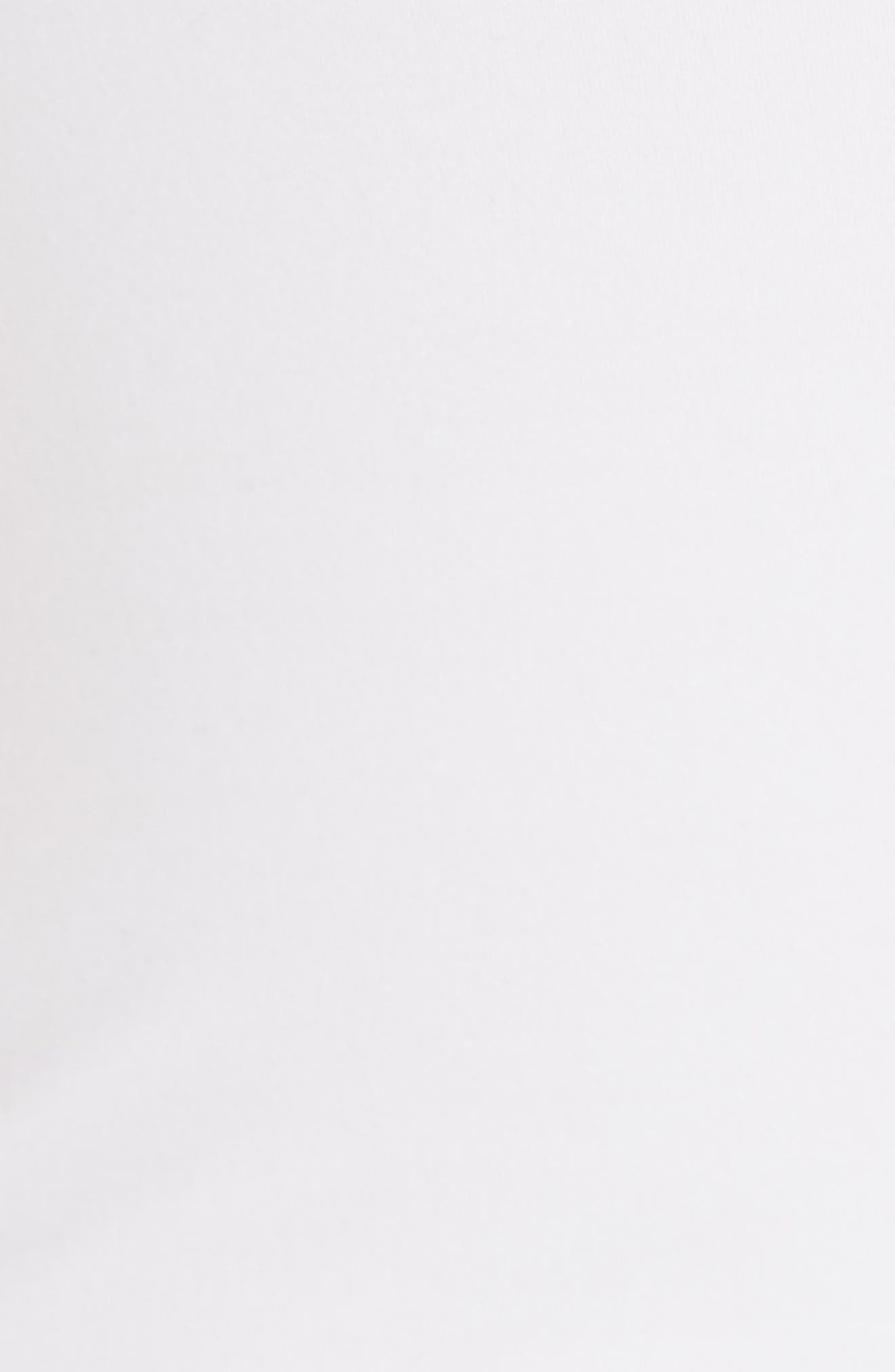 Square Neck Bodysuit,                             Alternate thumbnail 5, color,                             Optic White