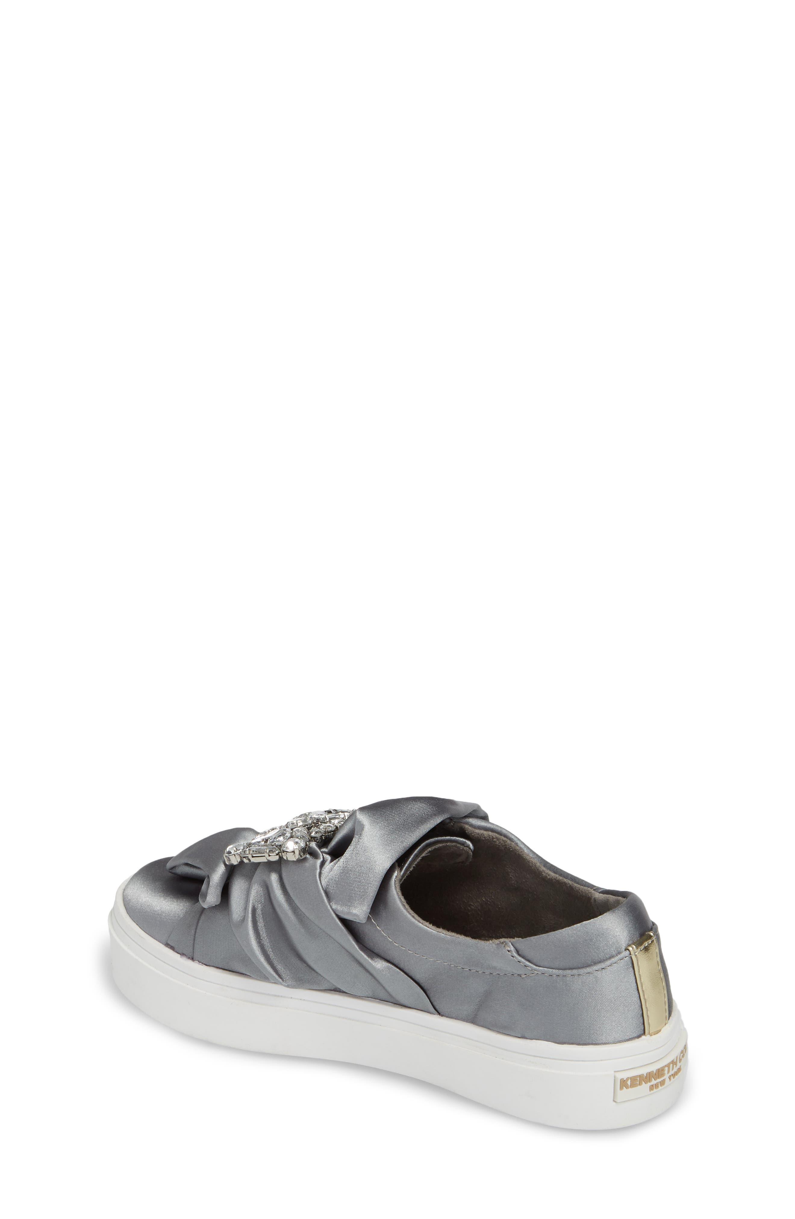 Shout Shine Embellished Sneaker,                             Alternate thumbnail 2, color,                             Gray