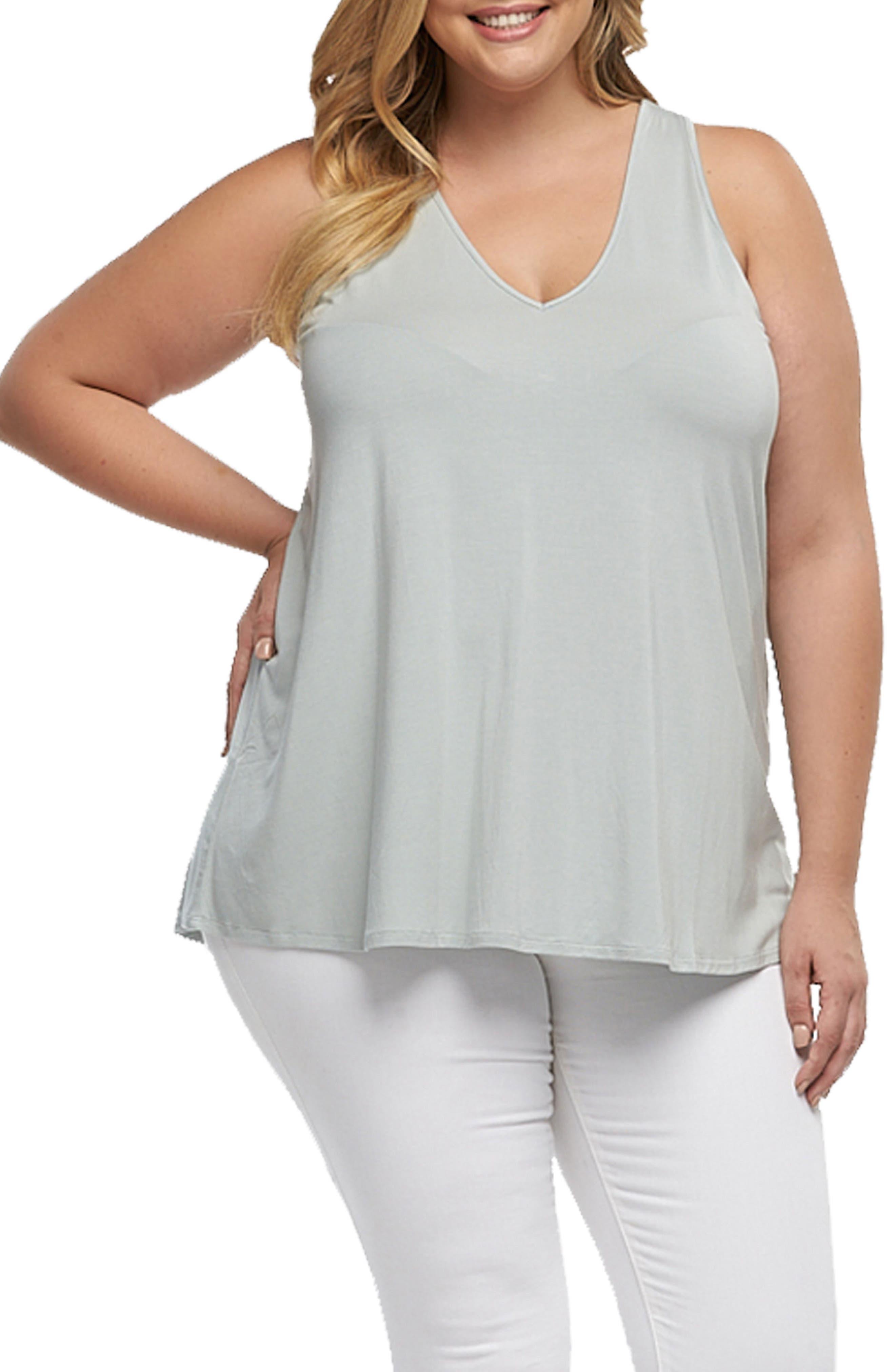 Tart Eve V-Neck Top (Plus Size)