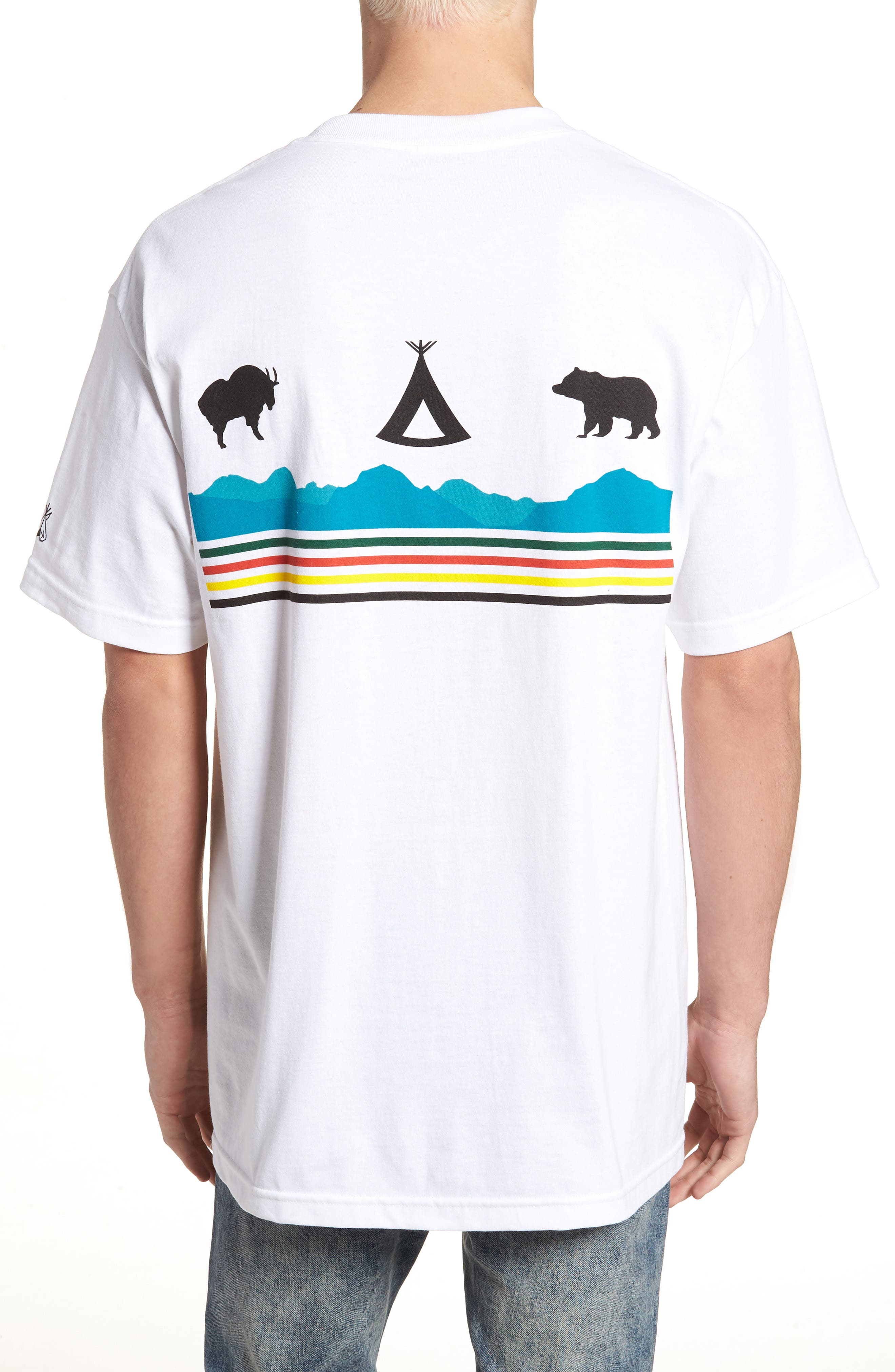 Alternate Image 2  - Pendleton Crewneck T-Shirt