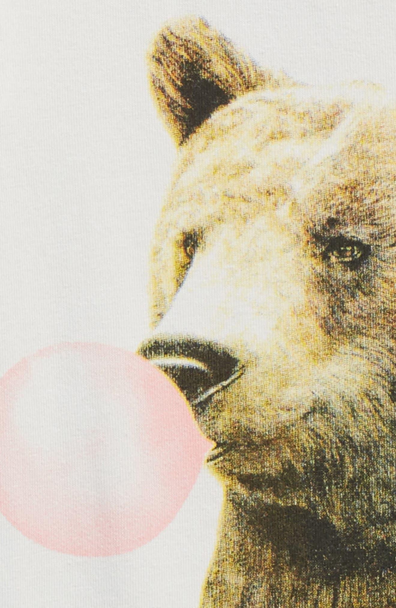 Alternate Image 2  - Rock Your Baby Bubblegum Bear Bodysuit (Baby)