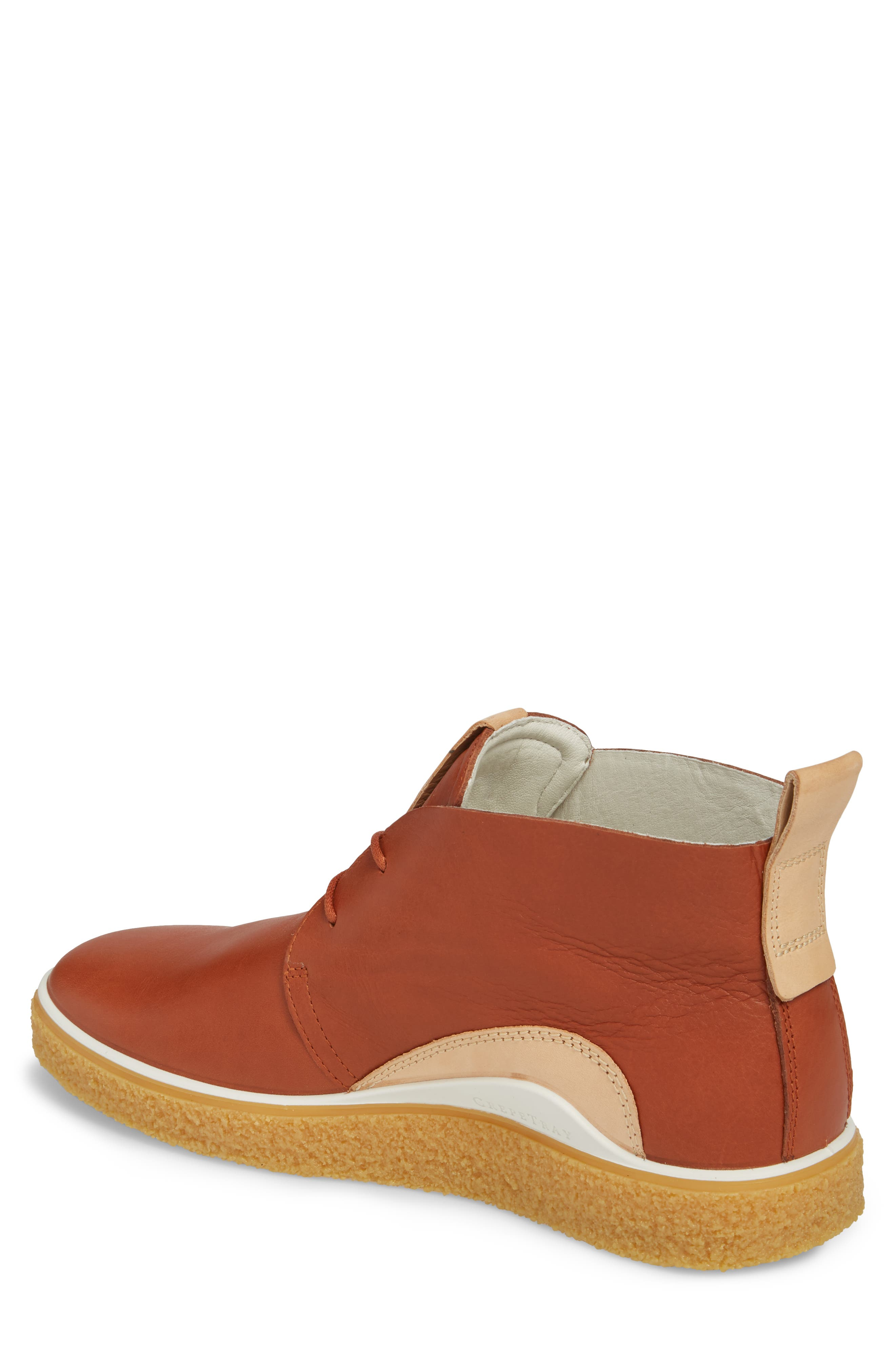 Crepetray Chukka Boot,                             Alternate thumbnail 2, color,                             Brandy Leather