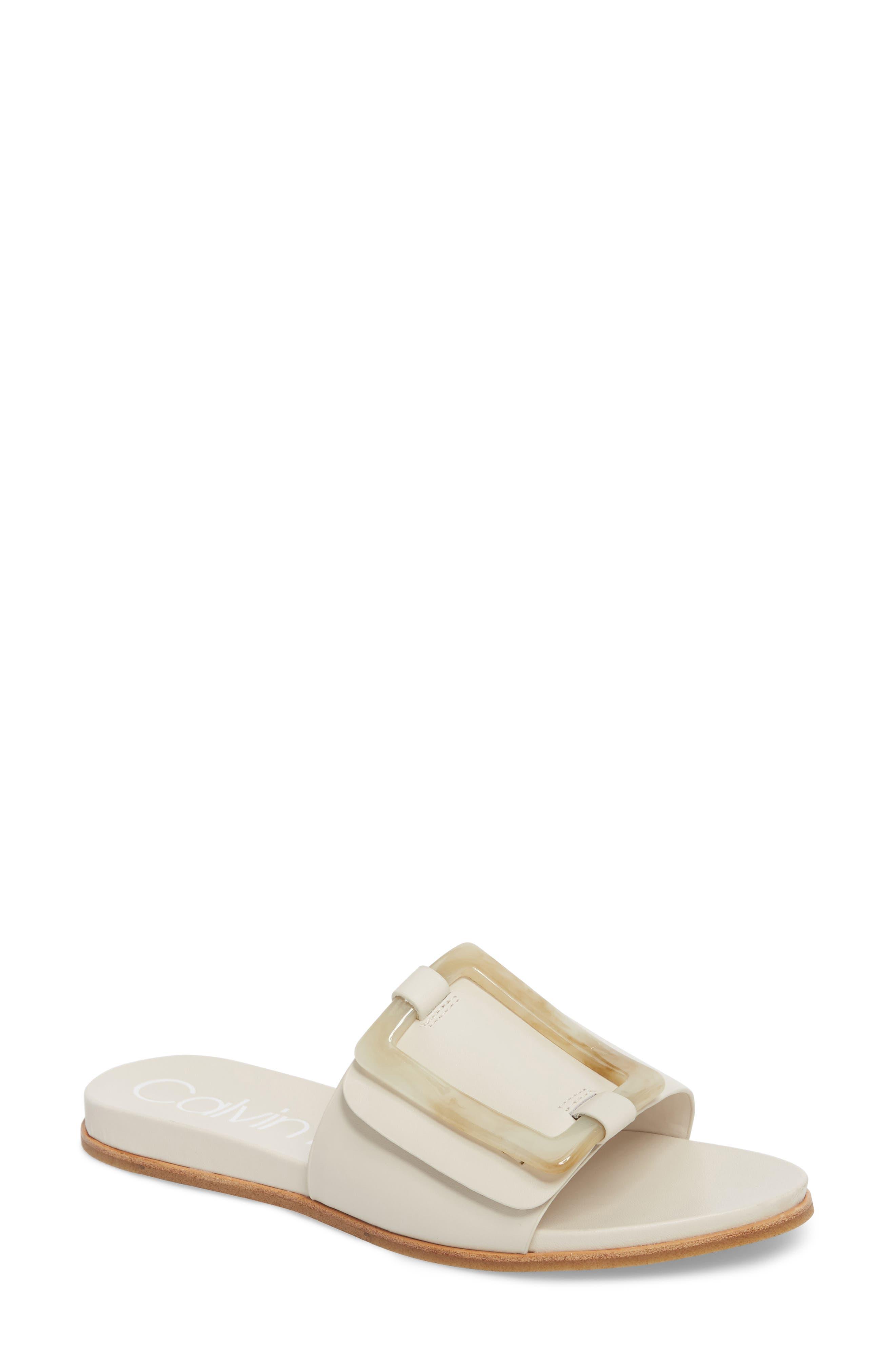 Calvin Klein Patreece Slide Sandal (Women)