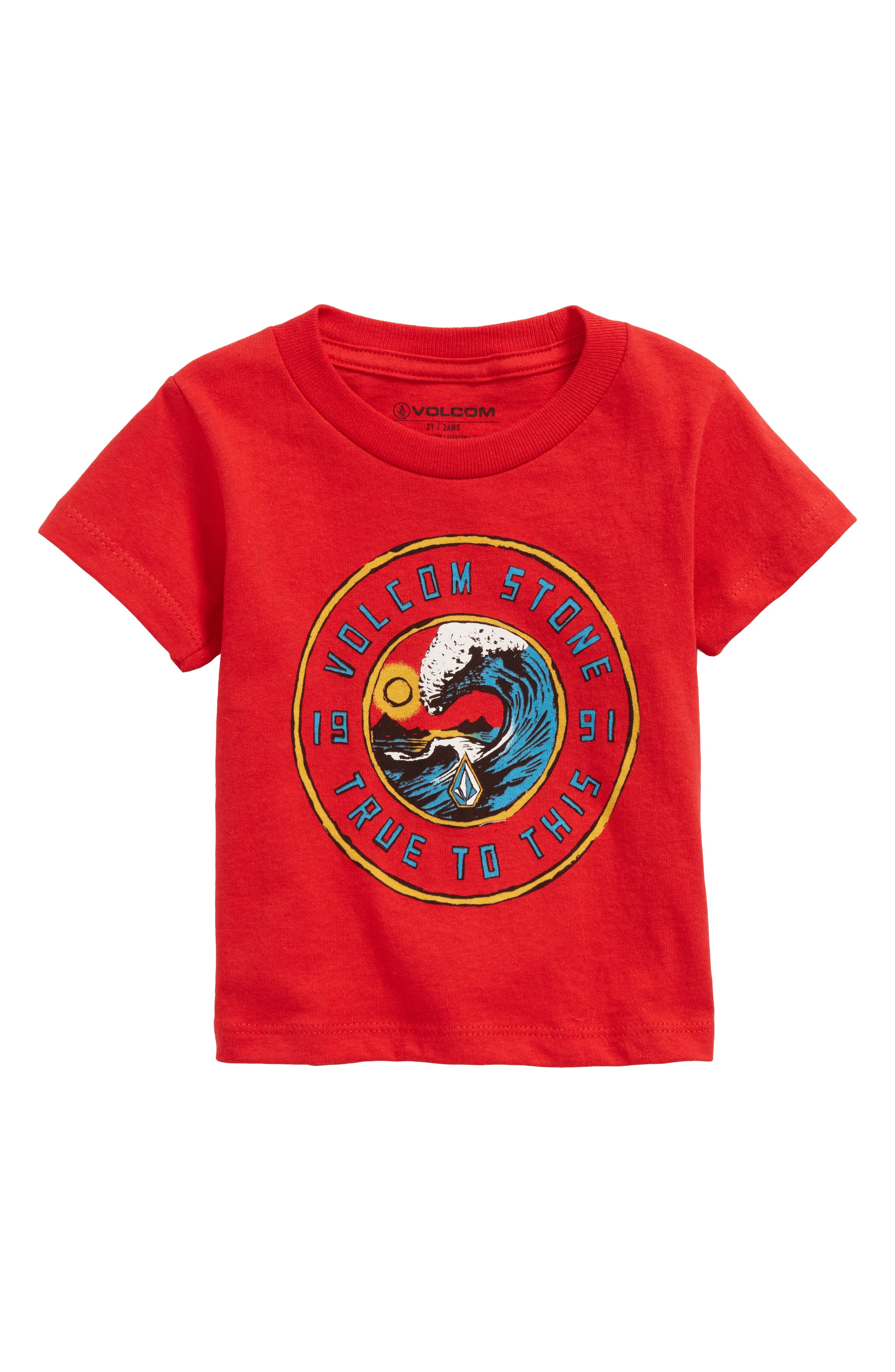 Furnish T-Shirt,                             Main thumbnail 1, color,                             Red