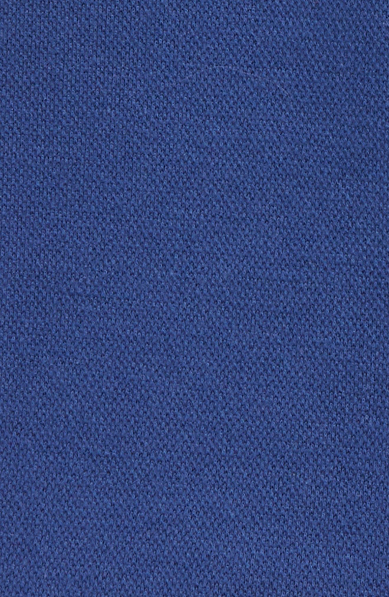 Jersey Chino Shorts,                             Alternate thumbnail 3, color,                             Beacon Blue