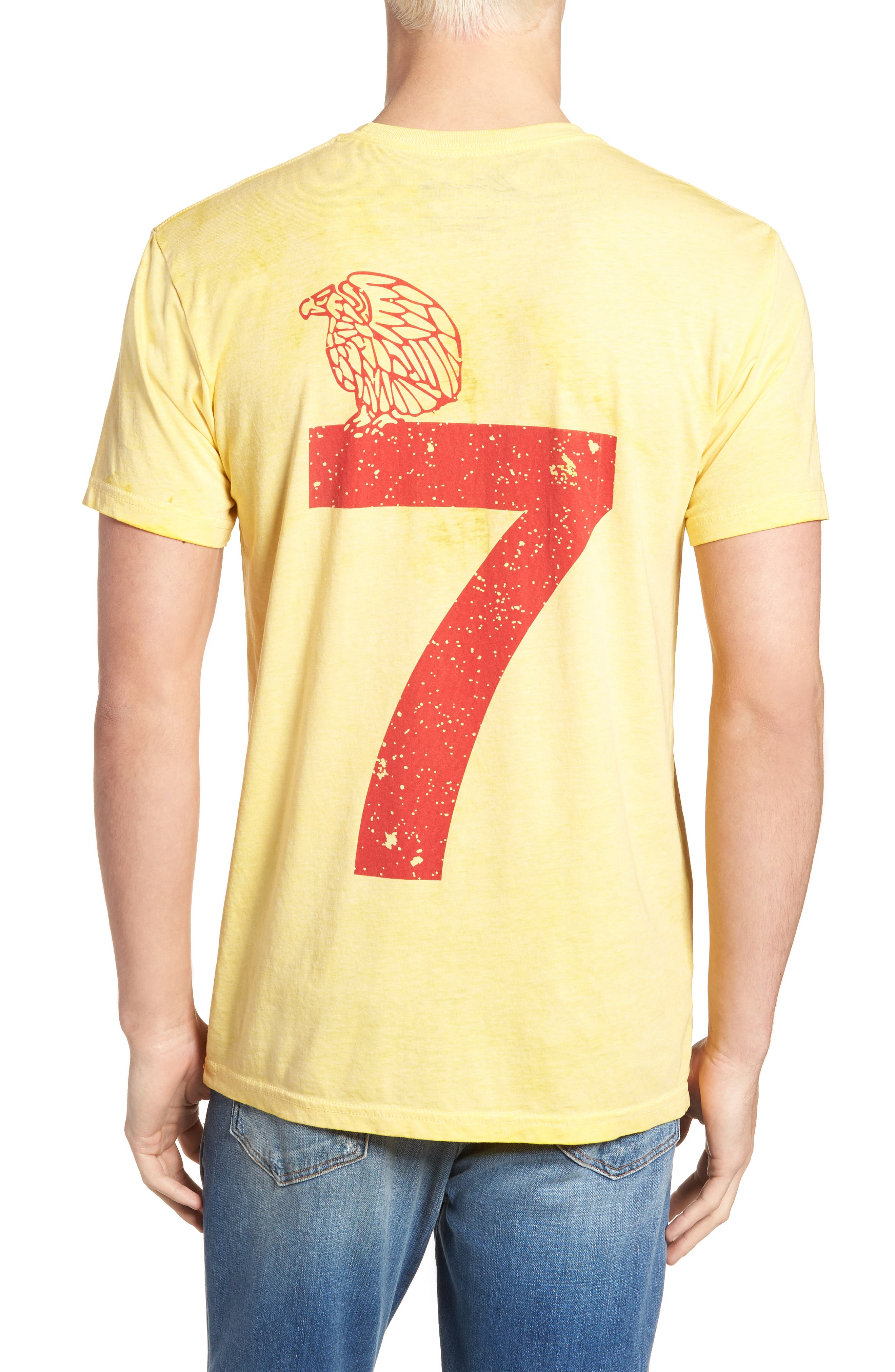 Mexico Jersey T-Shirt,                             Alternate thumbnail 2, color,                             Yellow