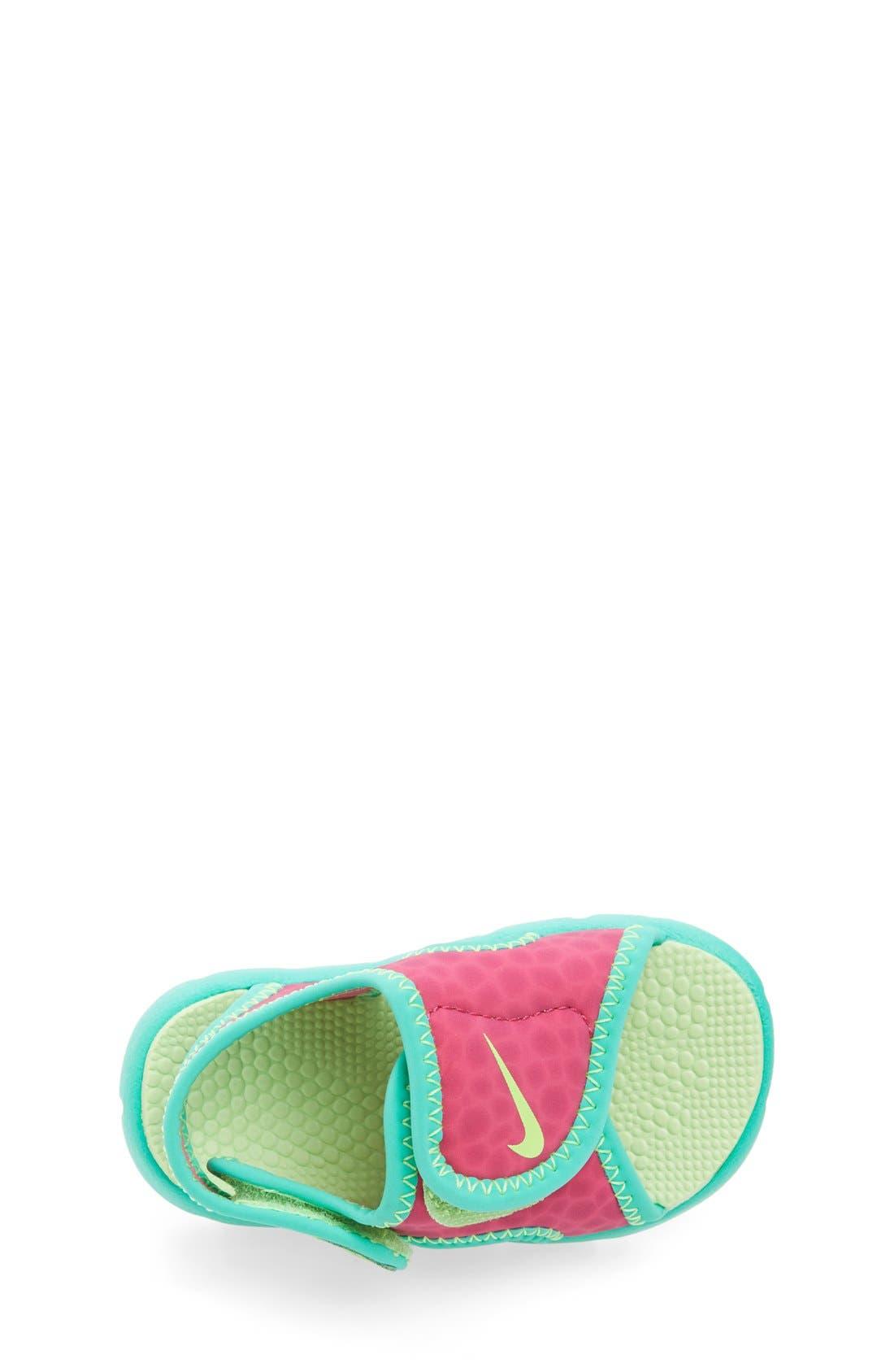 Alternate Image 3  - Nike 'Sunray Adjust 4' Sandal (Baby, Walker & Toddler)