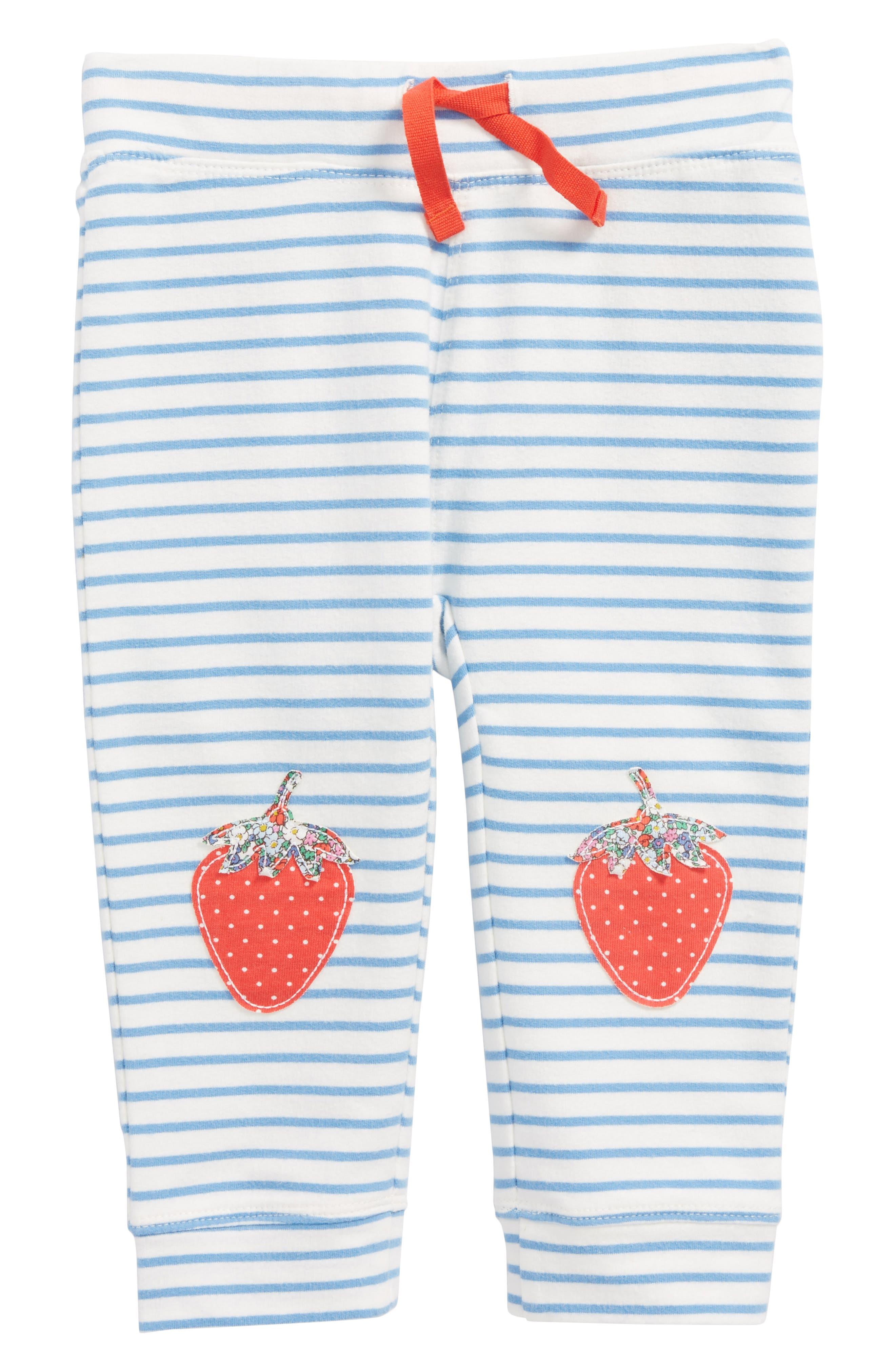 Mini Boden Fun Knee Appliqué Leggings (Baby Girls & Toddler Girls)