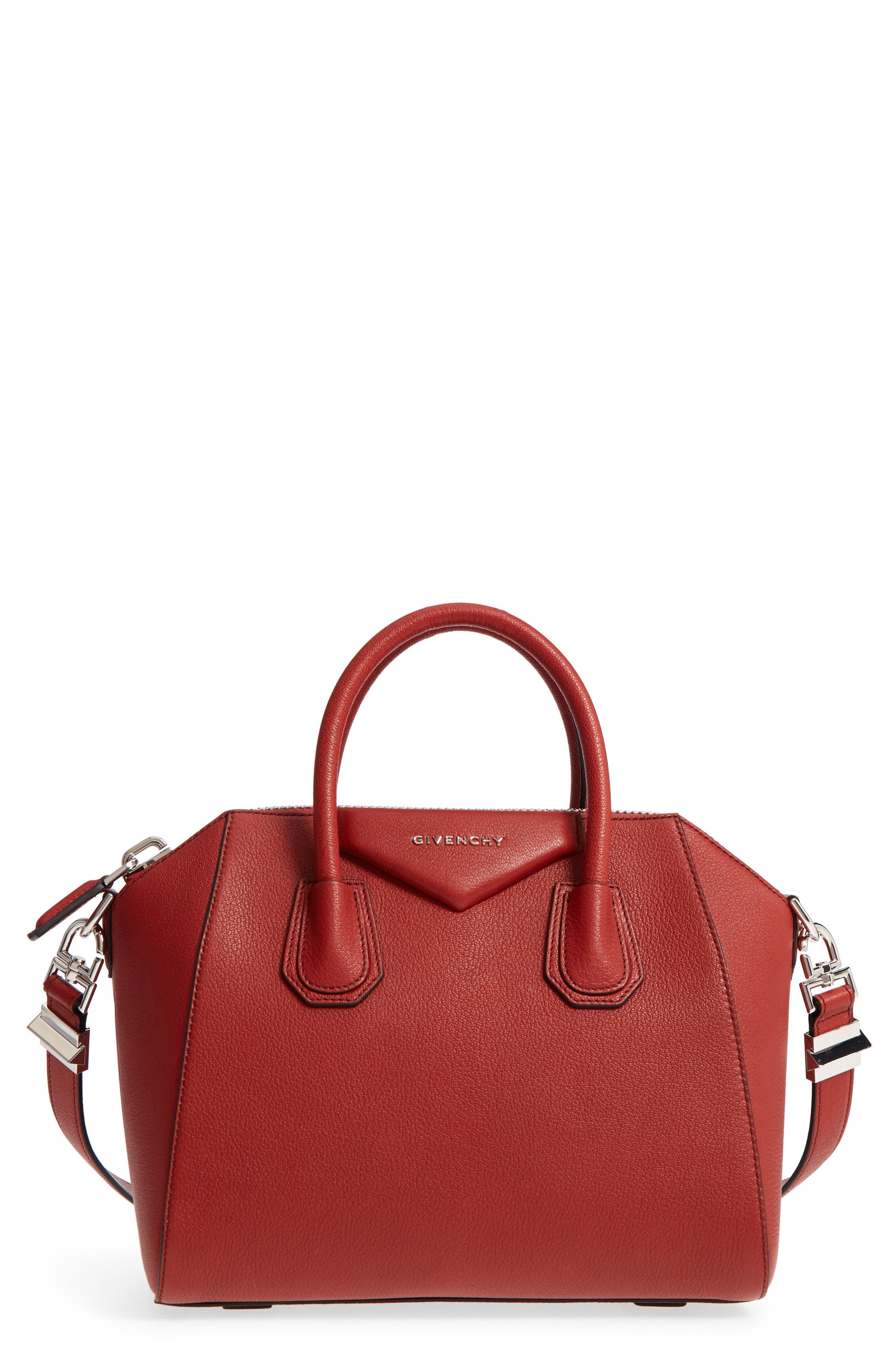Alternate Image 1 Selected - Givenchy 'Small Antigona' Leather Satchel
