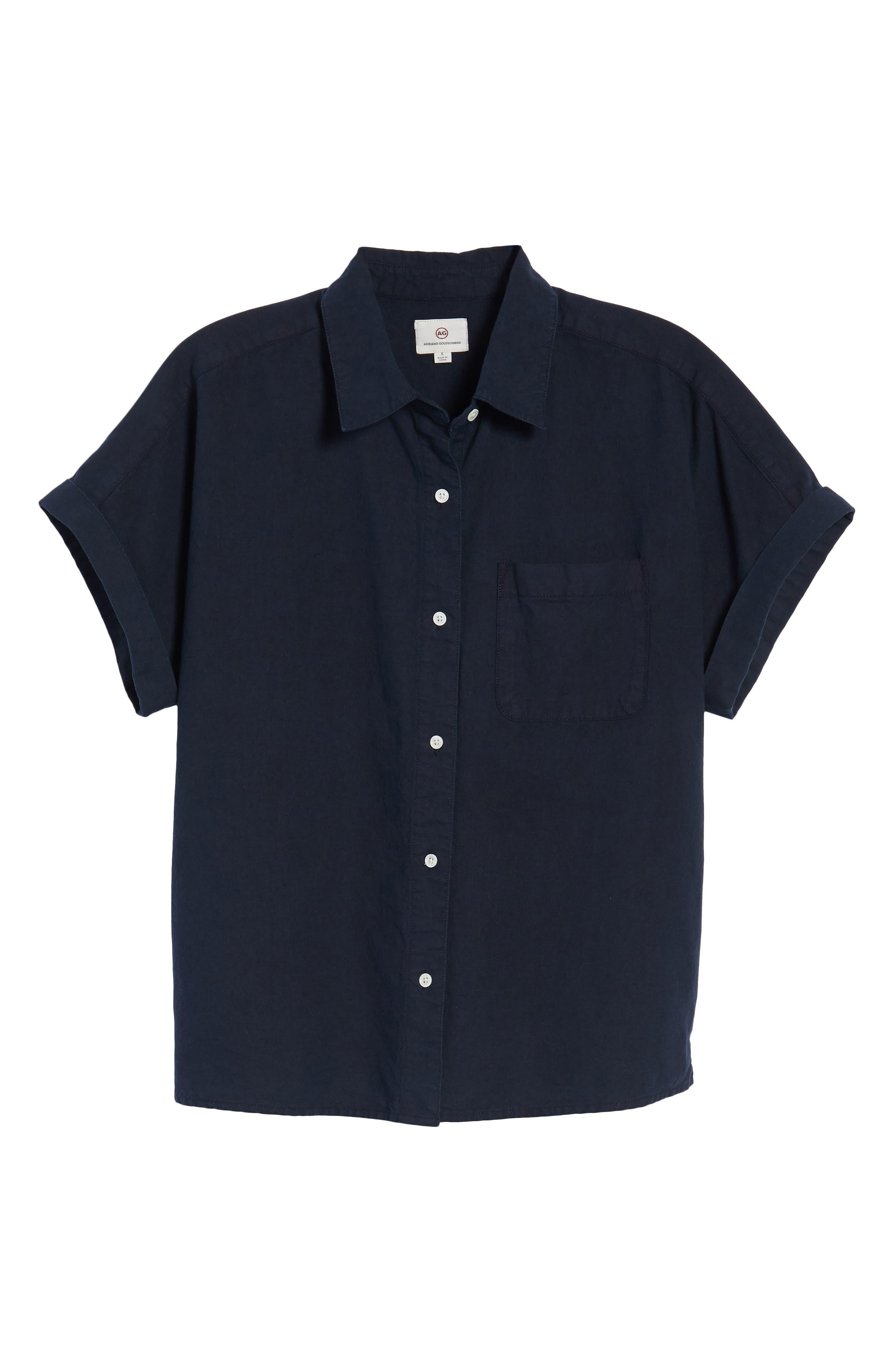 Hadley Shirt,                             Alternate thumbnail 7, color,                             Sulfur Dark Cove