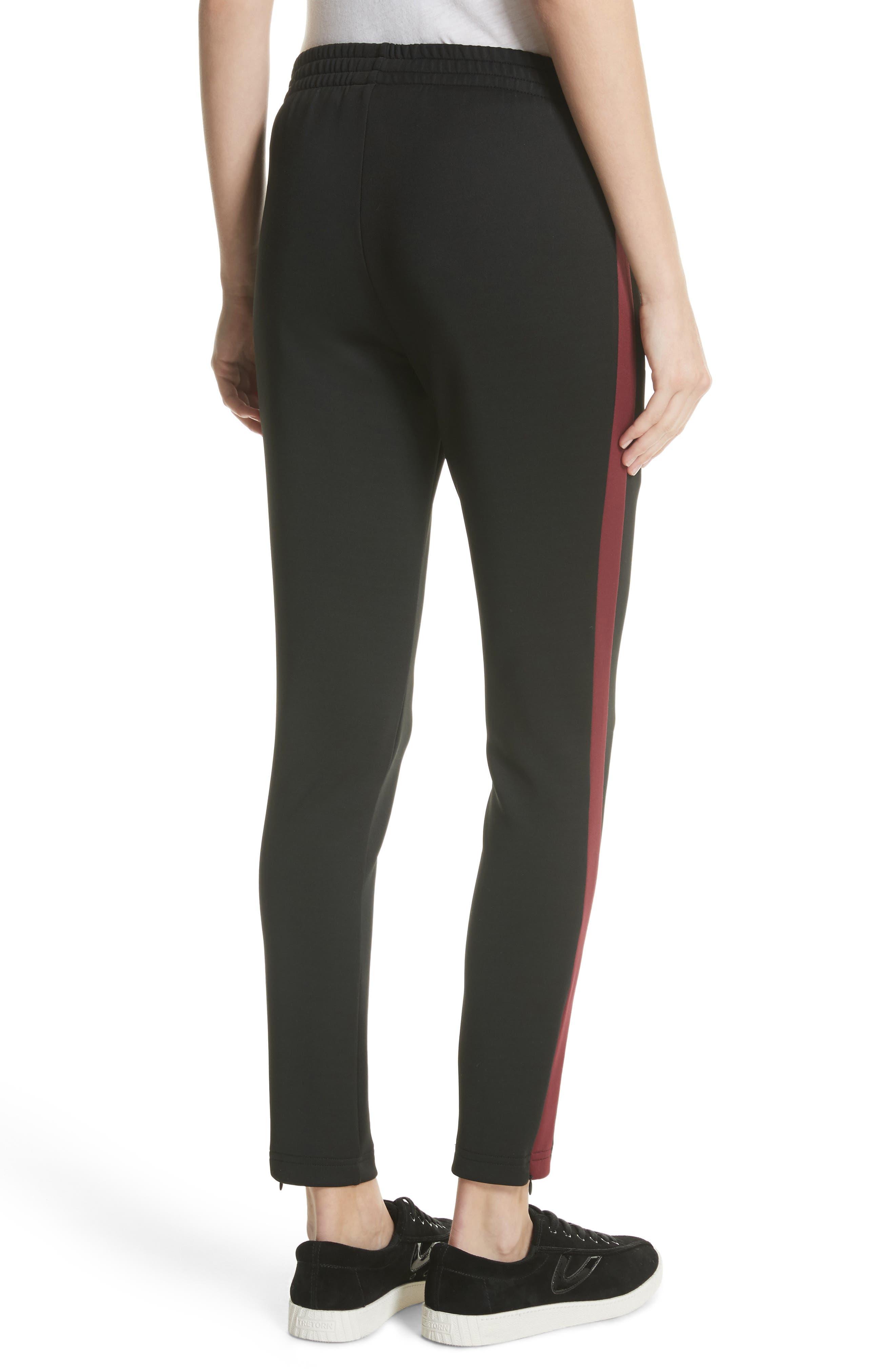 Tricot Track Pants,                             Alternate thumbnail 2, color,                             Black