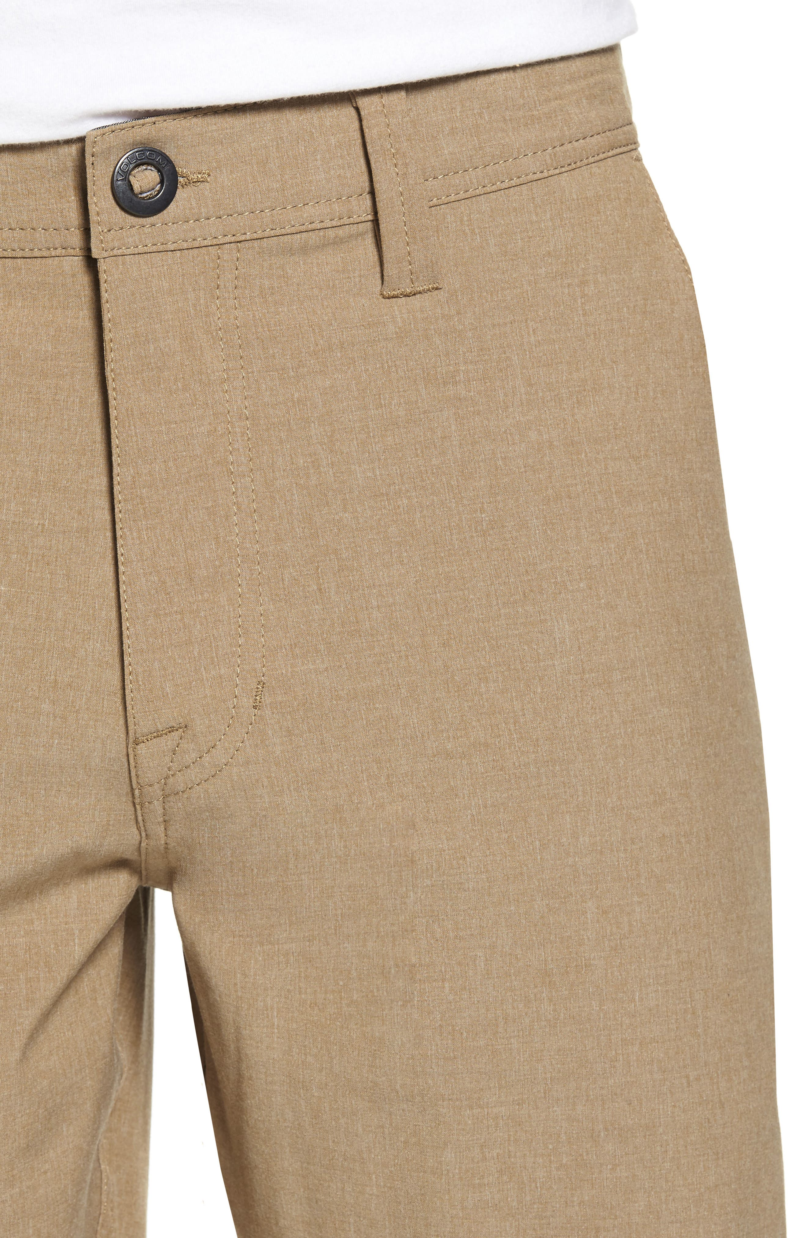 Hybrid Shorts,                             Alternate thumbnail 4, color,                             Beige