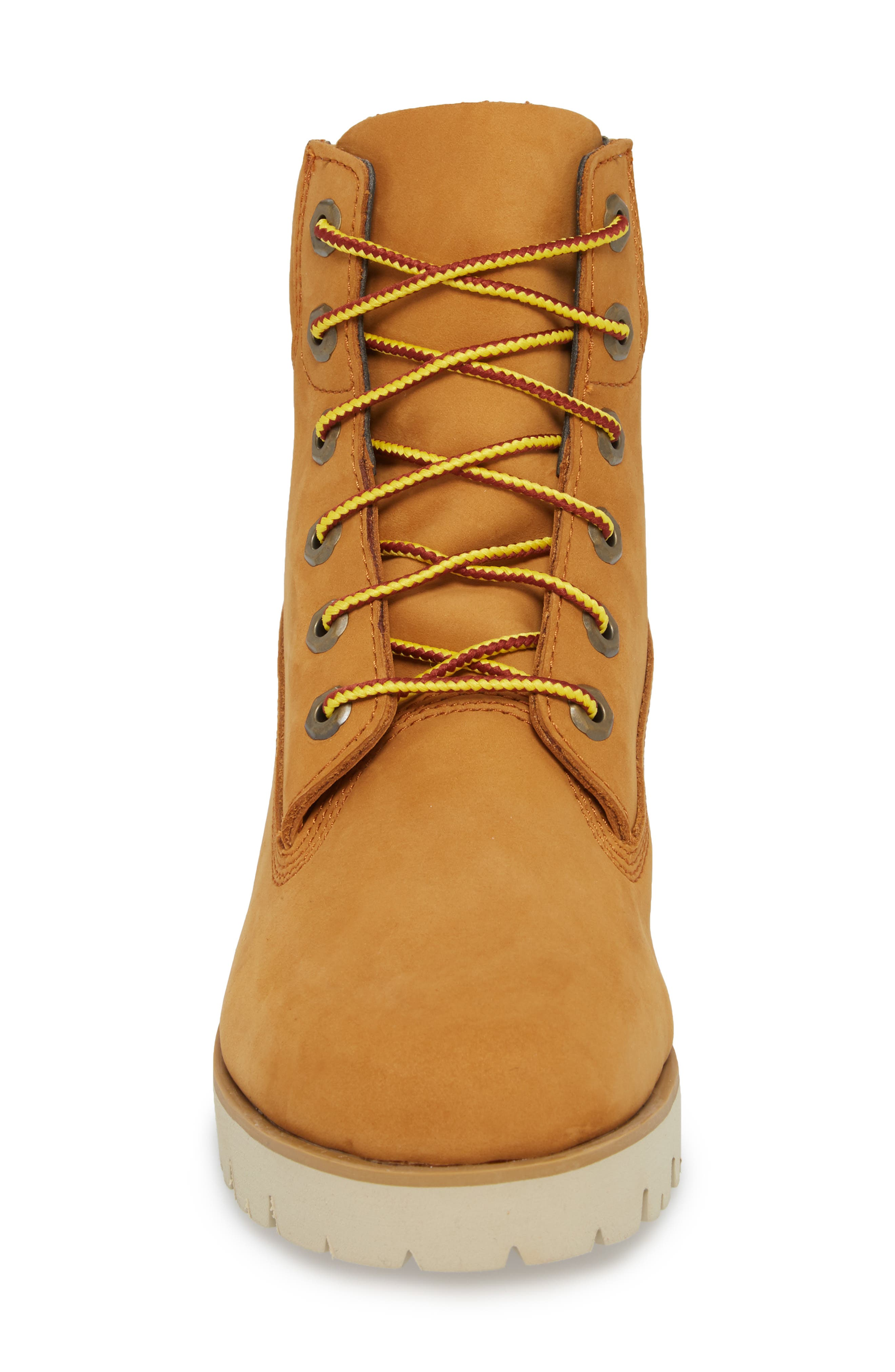 6-Inch Heritage Lite Water-Resistant Boot,                             Alternate thumbnail 4, color,                             Wheat Nubuck