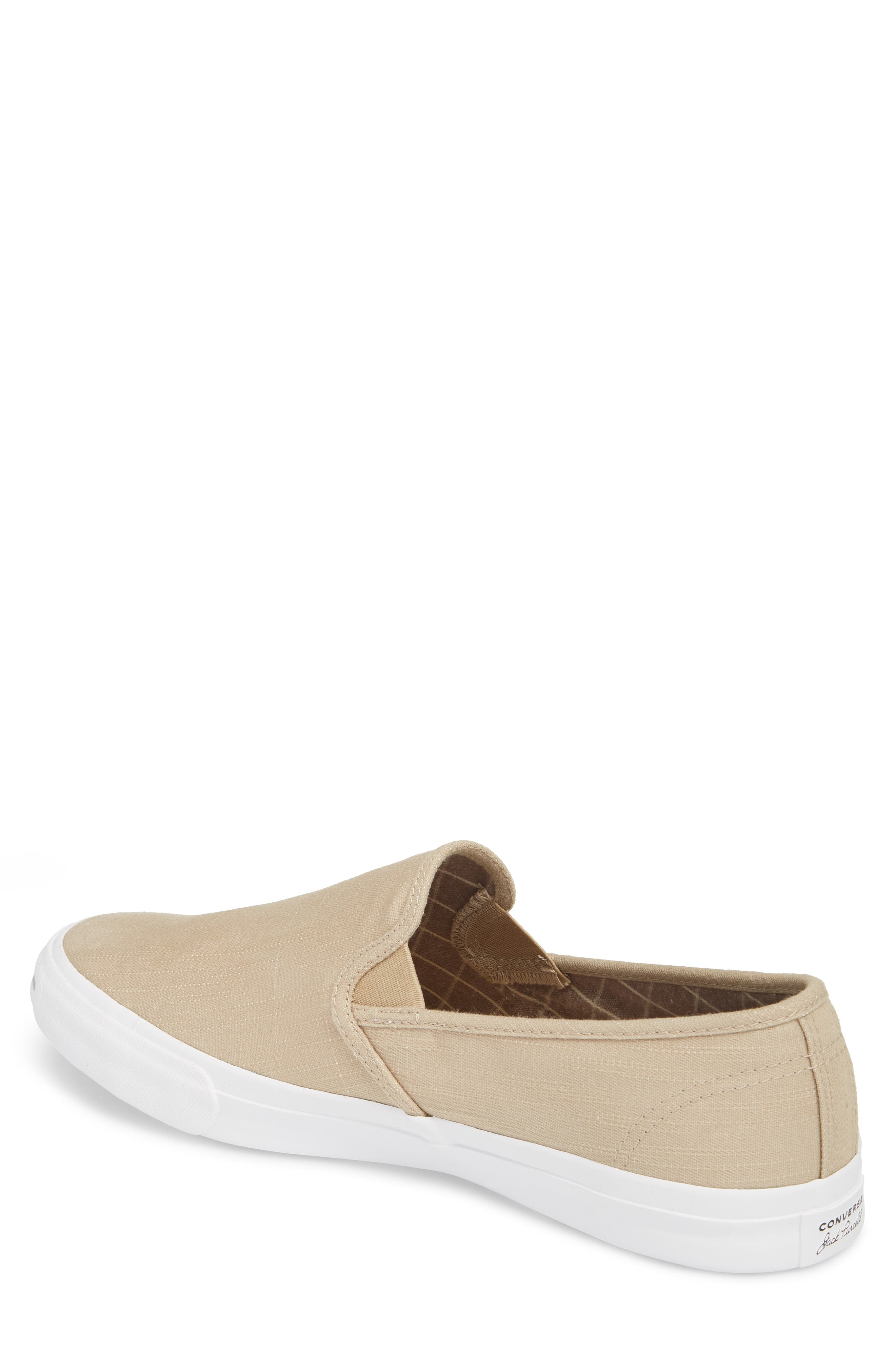 Alternate Image 2  - Converse Jack Purcell Low Profile Slip-On Sneaker (Men)