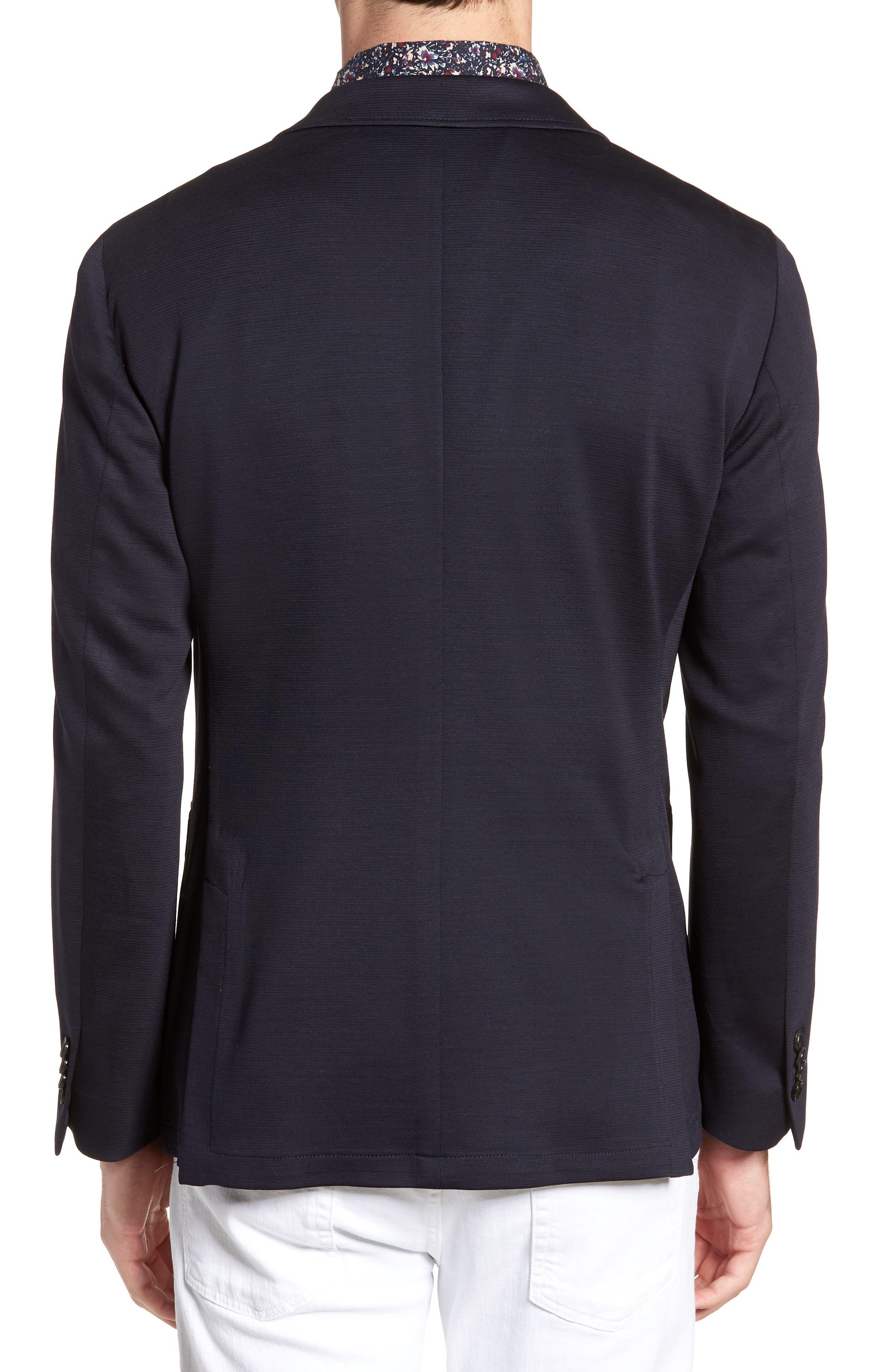 Cardrona Slim Fit Wool Blend Blazer,                             Alternate thumbnail 2, color,                             Navy