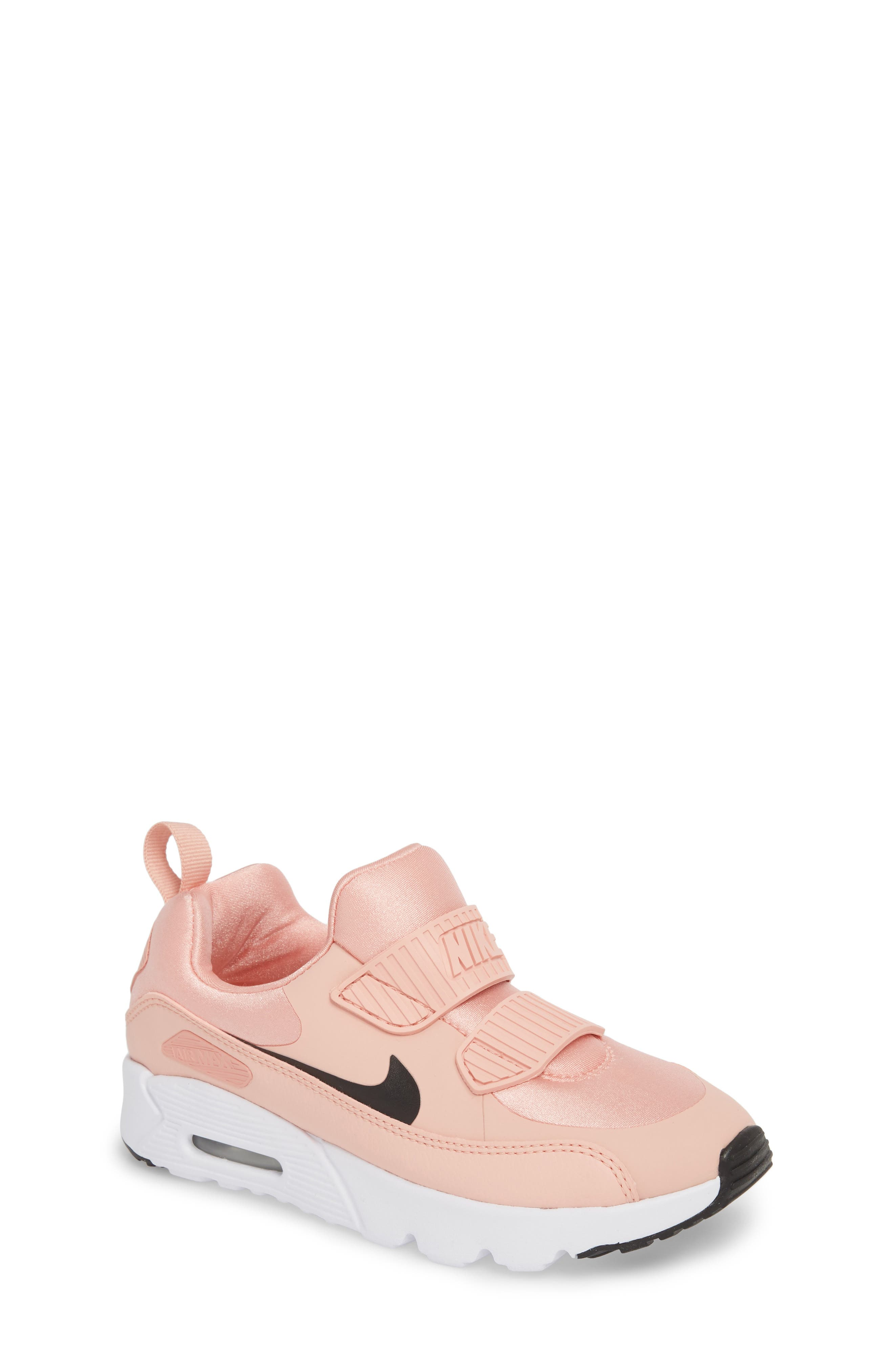 Air Max Tiny 90 Sneaker,                         Main,                         color, Coral Stardust/ Black