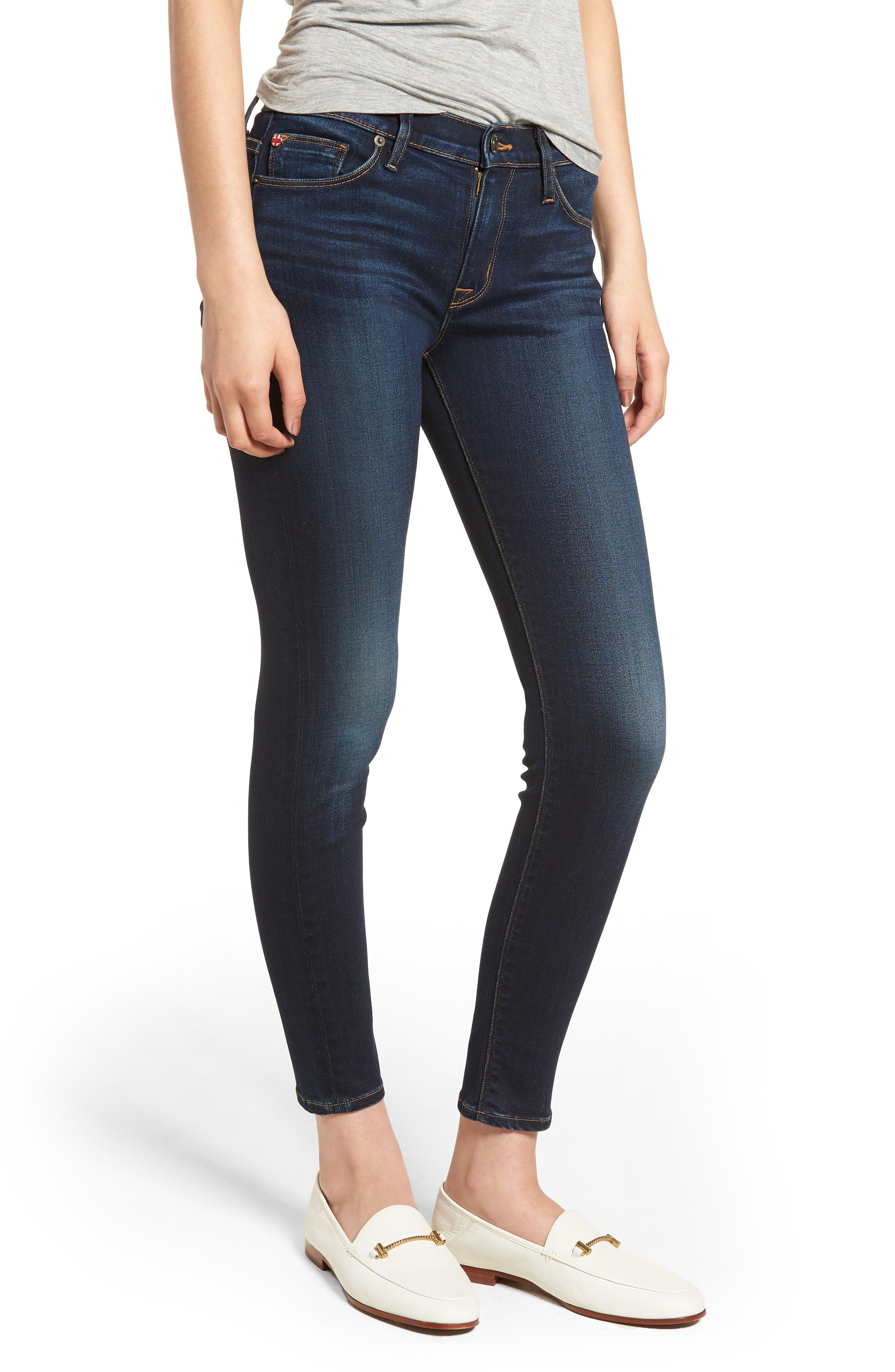 'Nico' Ankle Skinny Jeans (Calvary)<br />,                         Main,                         color, Corps