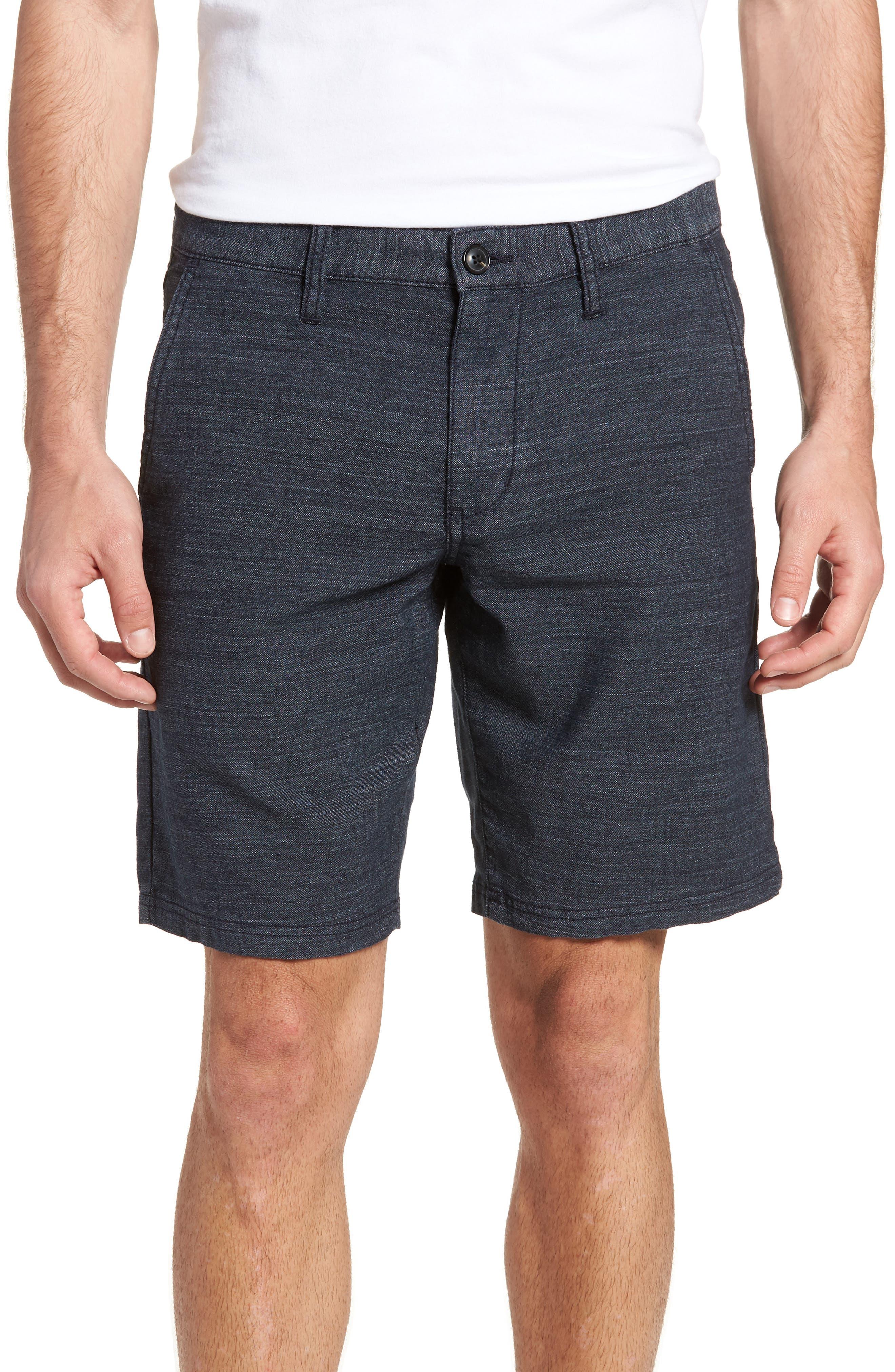 John Varvatos Star USA Linen Blend Shorts