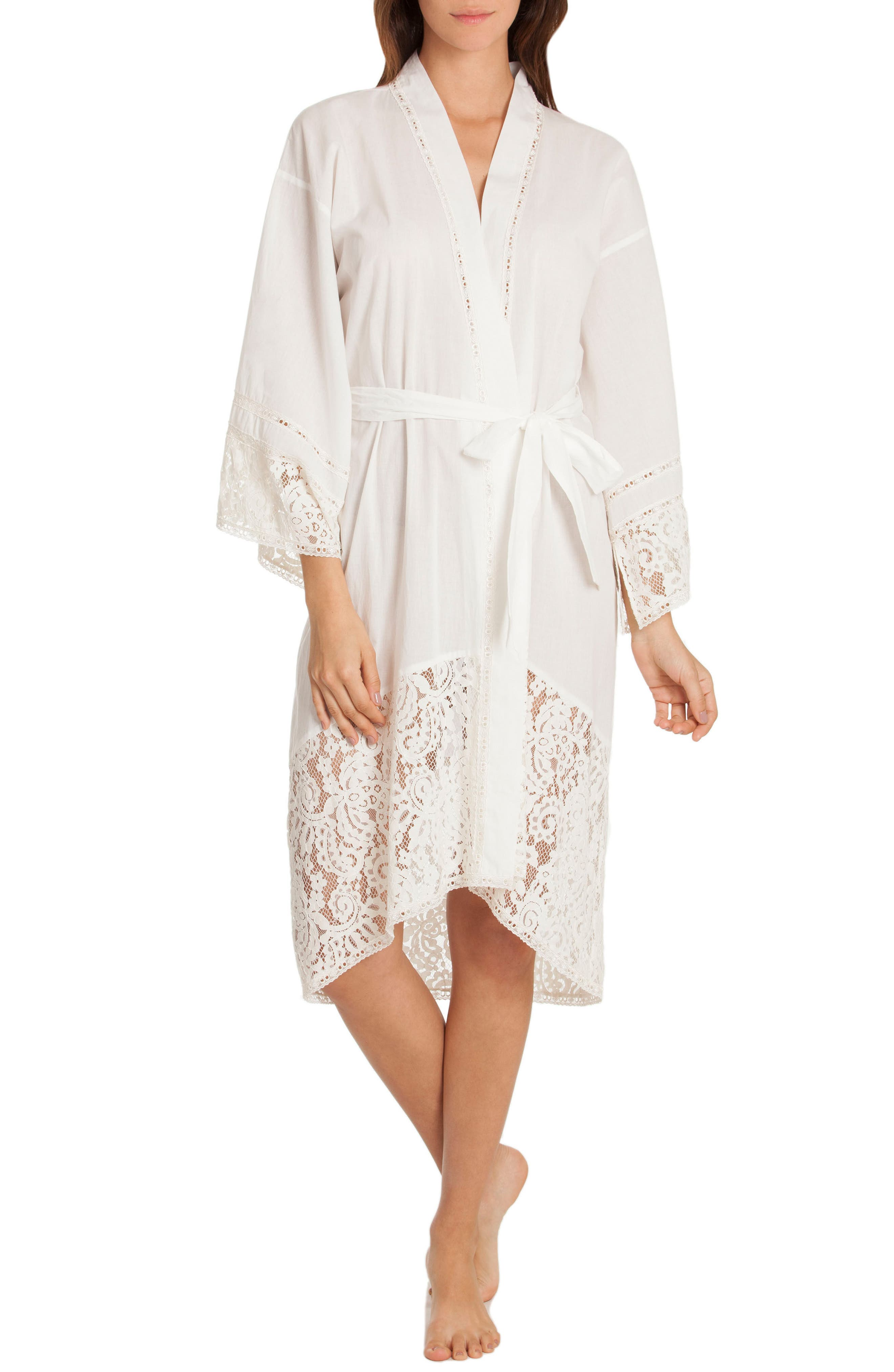 Robe,                         Main,                         color, Ivory/ Beige