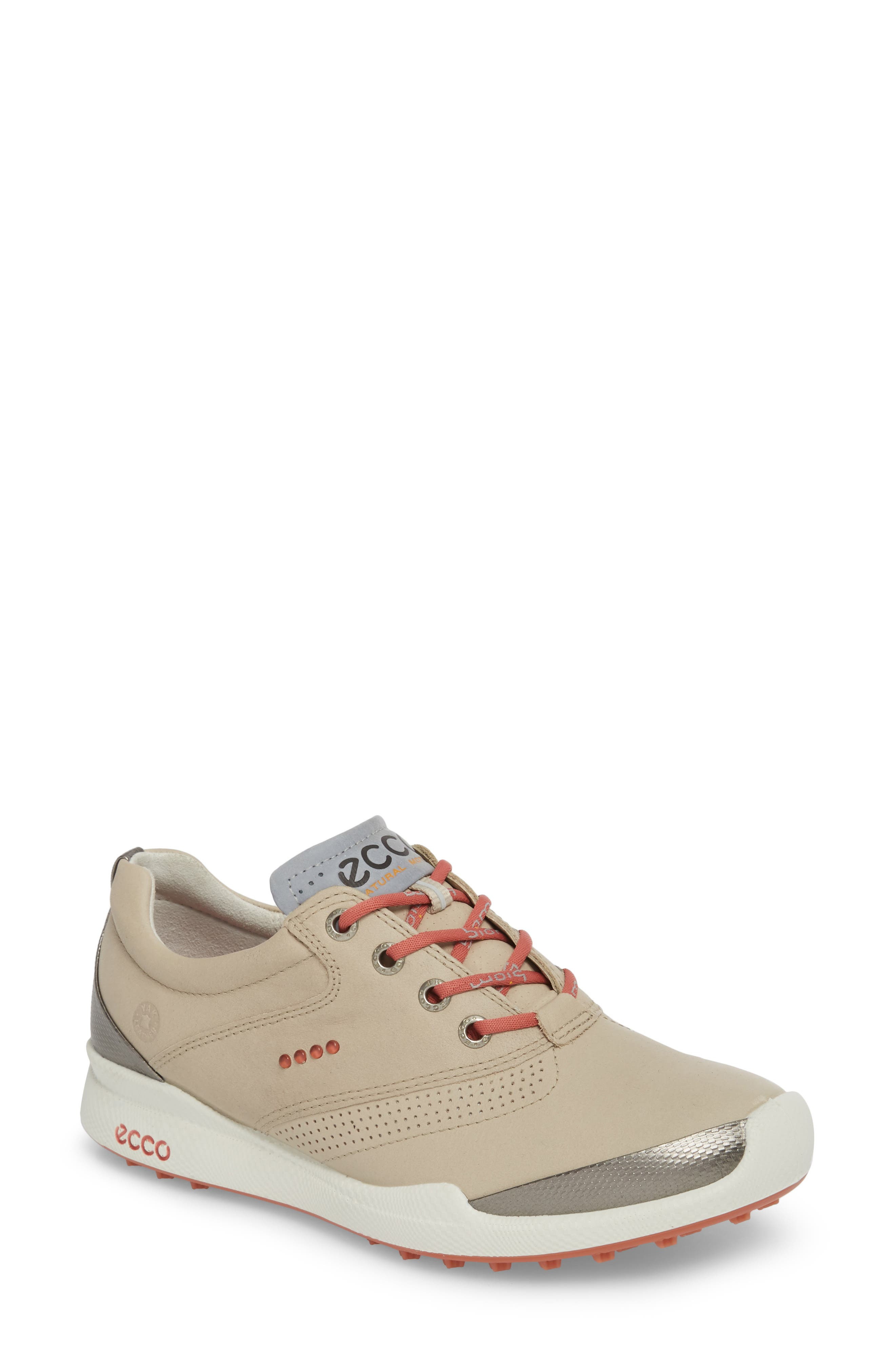 Biom Hybrid Golf Shoe,                             Main thumbnail 1, color,                             Oyster Leather