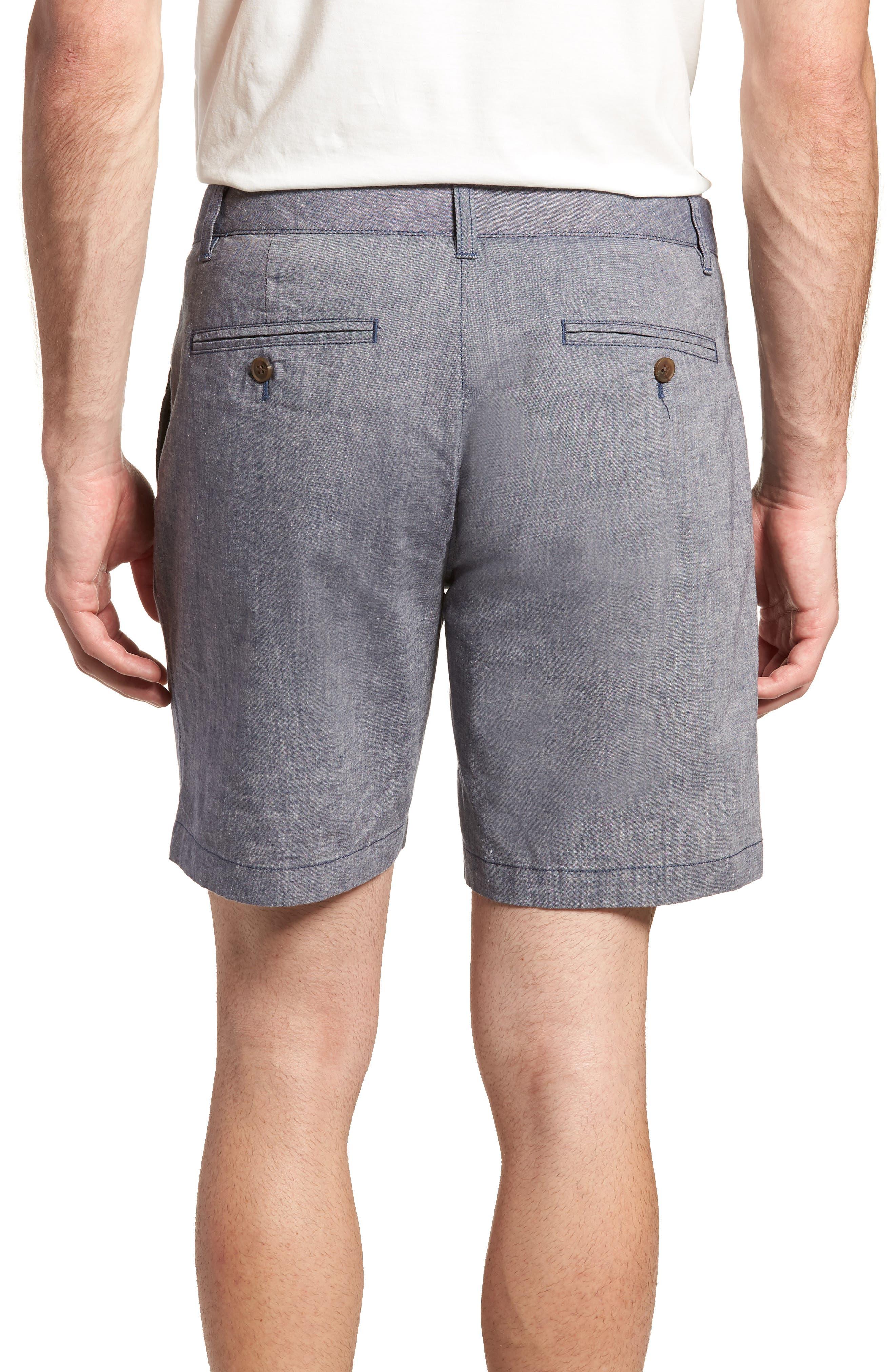 Novelty Chino Shorts,                             Alternate thumbnail 2, color,                             Grey Chambray