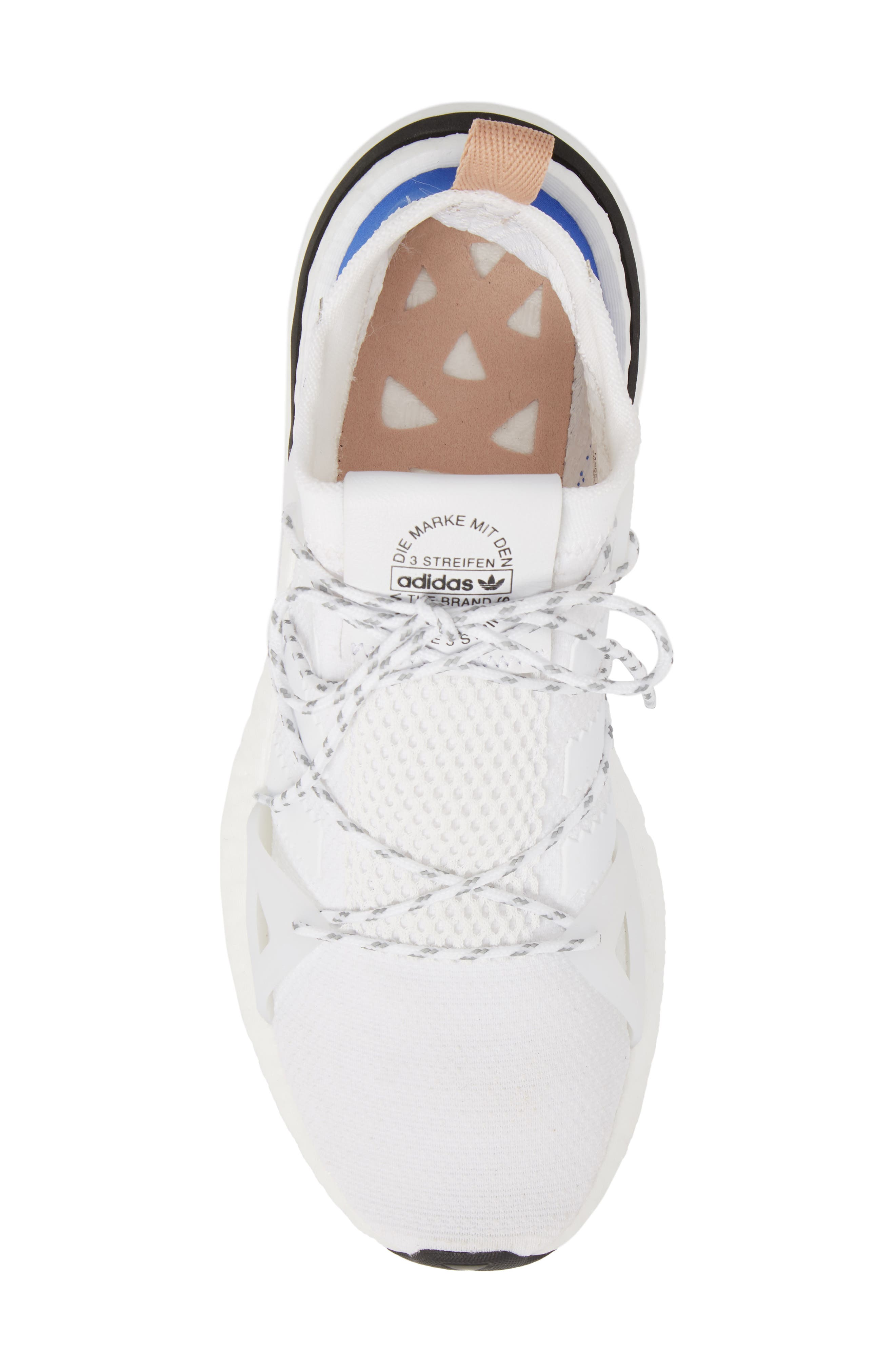Arkyn Sneaker,                             Alternate thumbnail 5, color,                             White/ White/ Ash Pearl