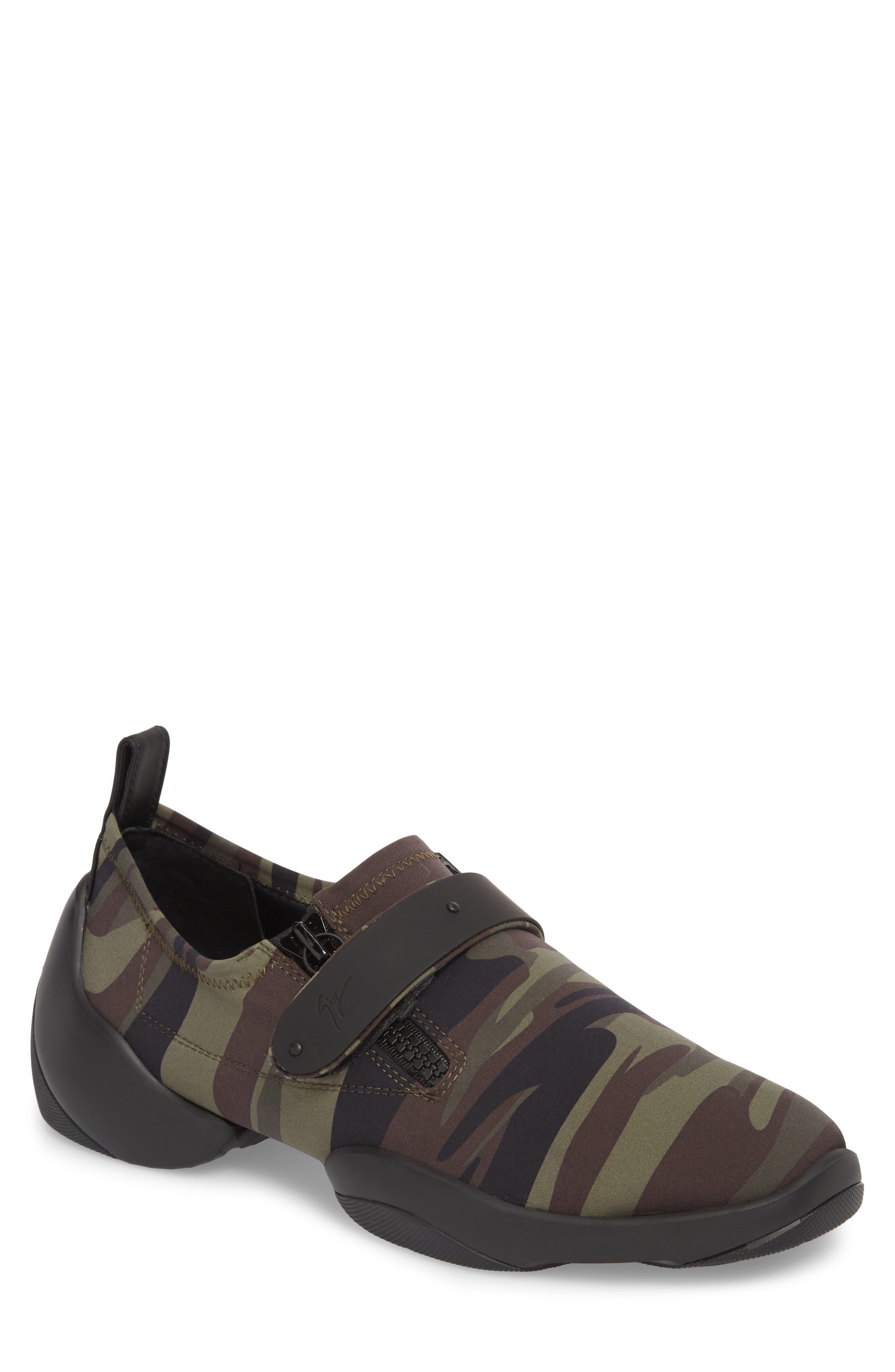 Scuba Strap Sneaker,                             Main thumbnail 1, color,                             Military Neoprene