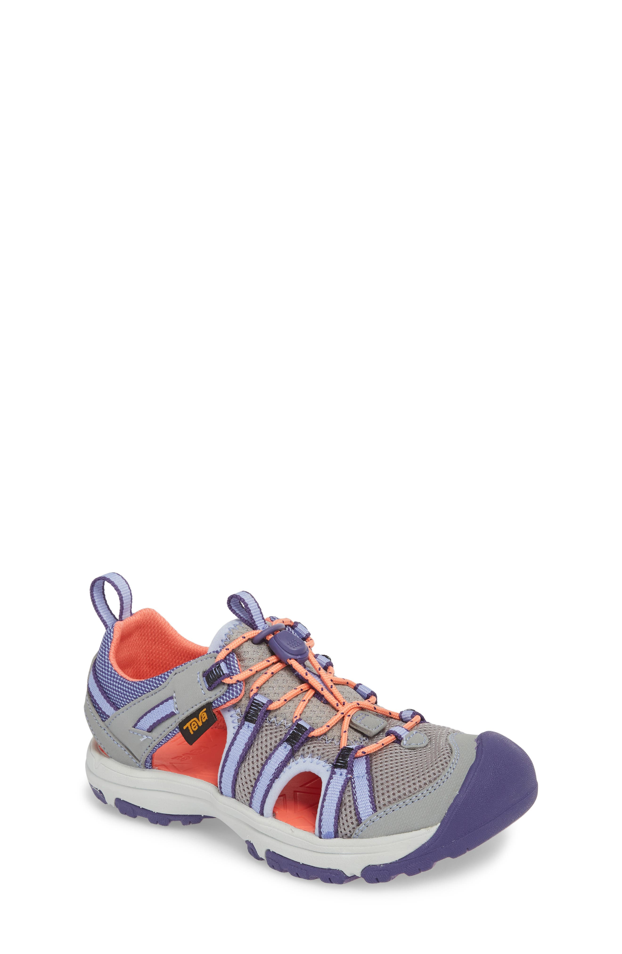Manatee Sport Sandal,                             Main thumbnail 1, color,                             Wild Dove