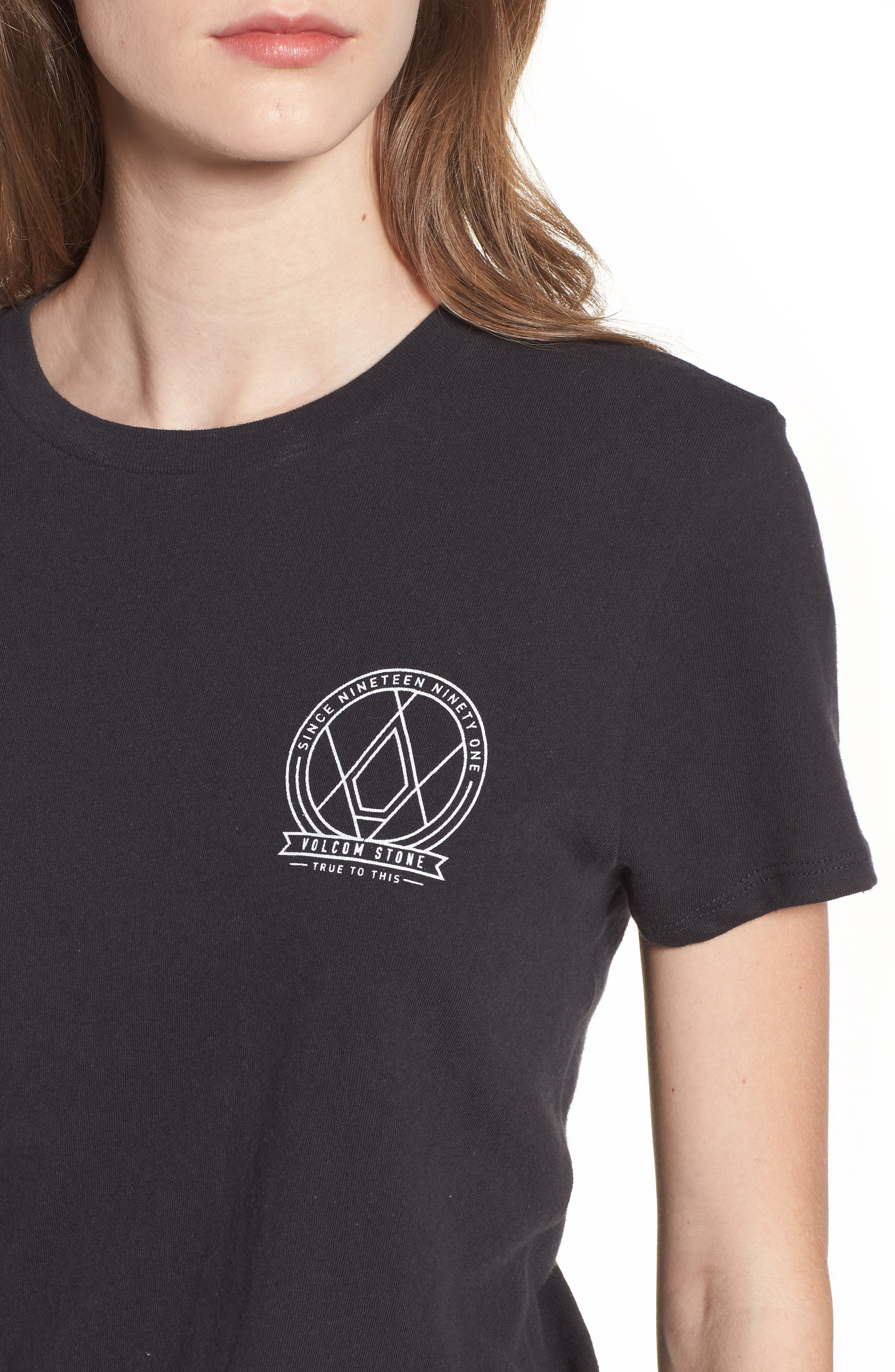 Day Everyday Tee,                             Alternate thumbnail 4, color,                             Black