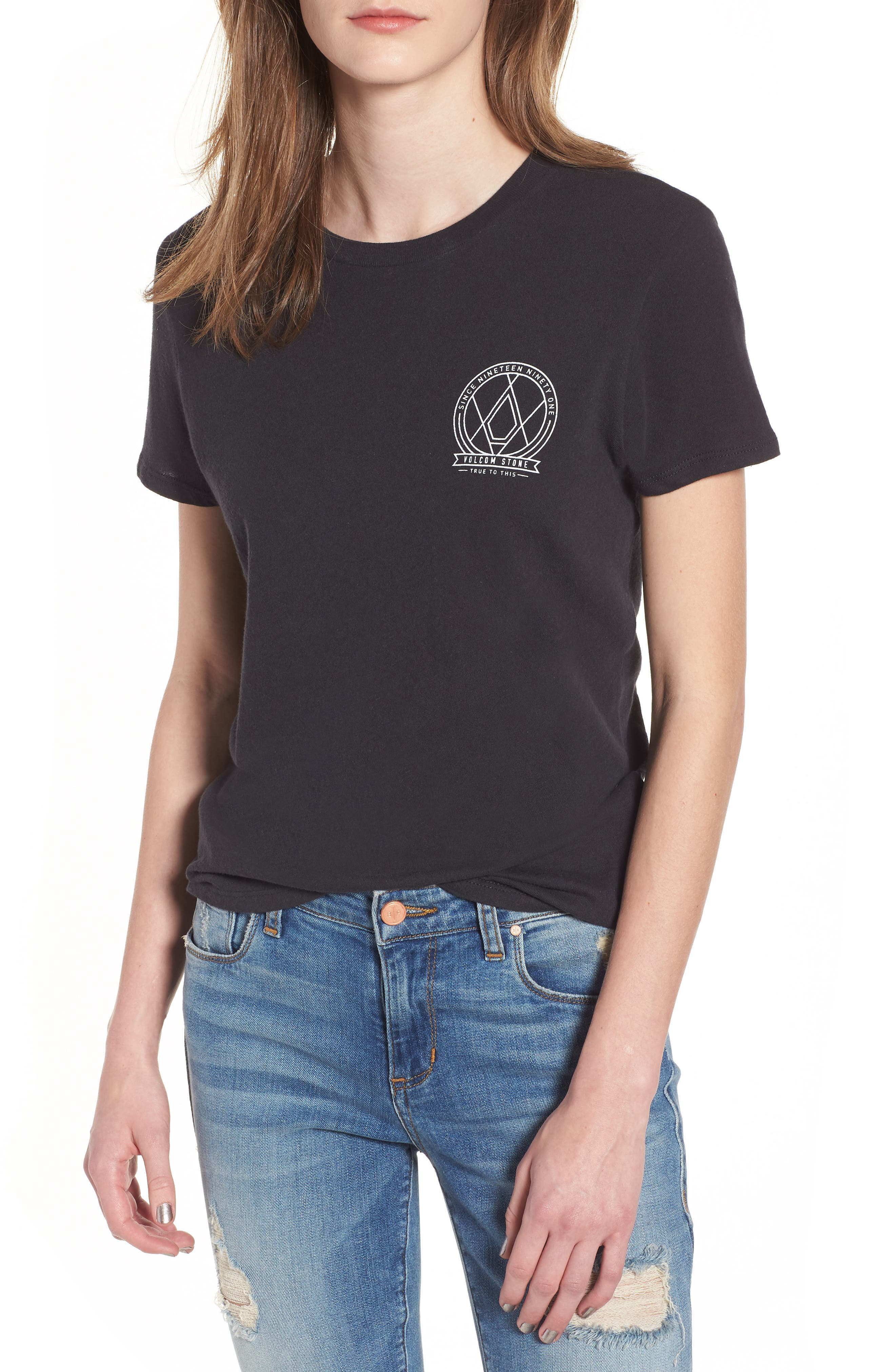Day Everyday Tee,                             Main thumbnail 1, color,                             Black