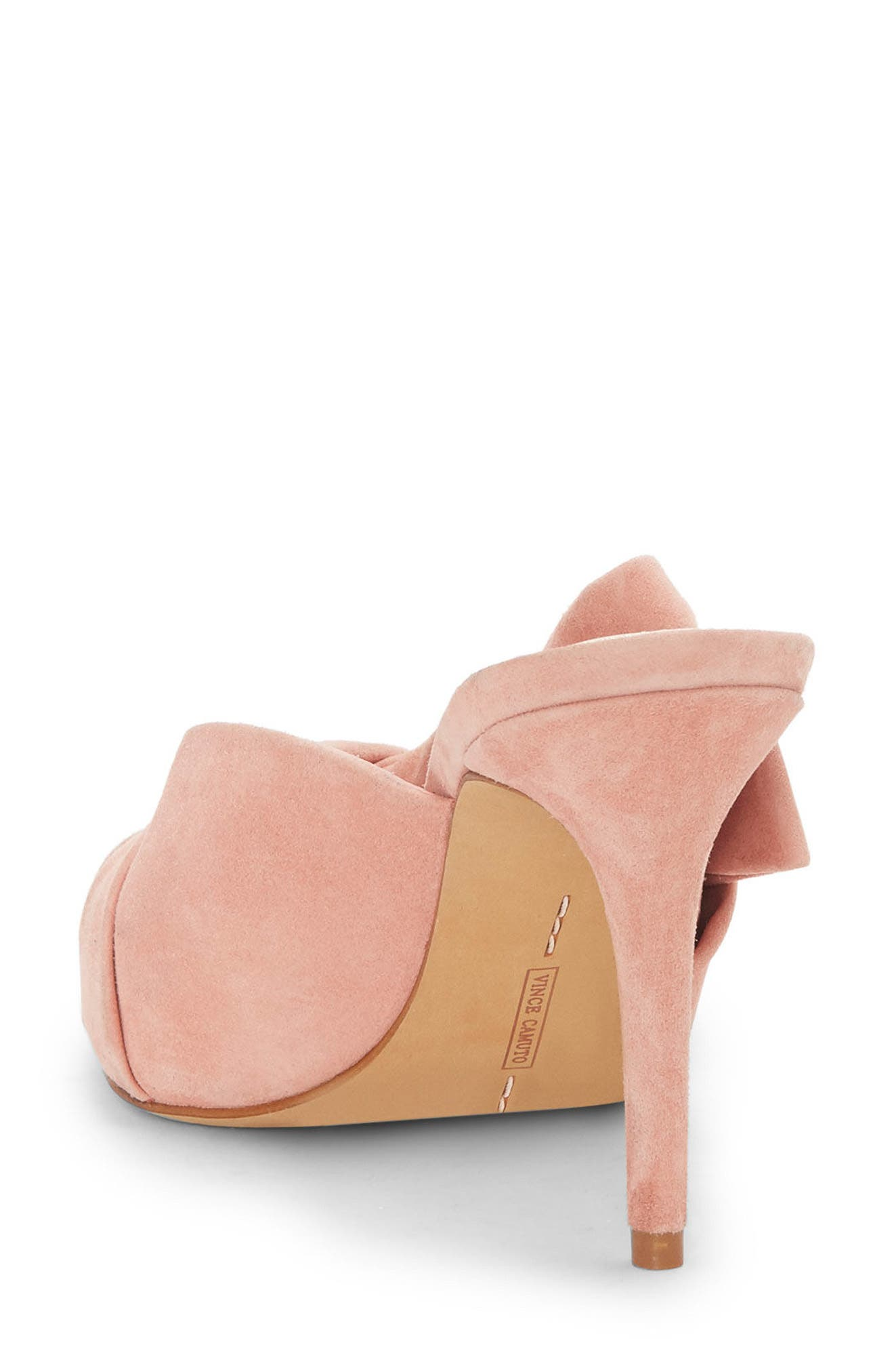 Amillada Pump,                             Alternate thumbnail 2, color,                             Rose Bud Suede