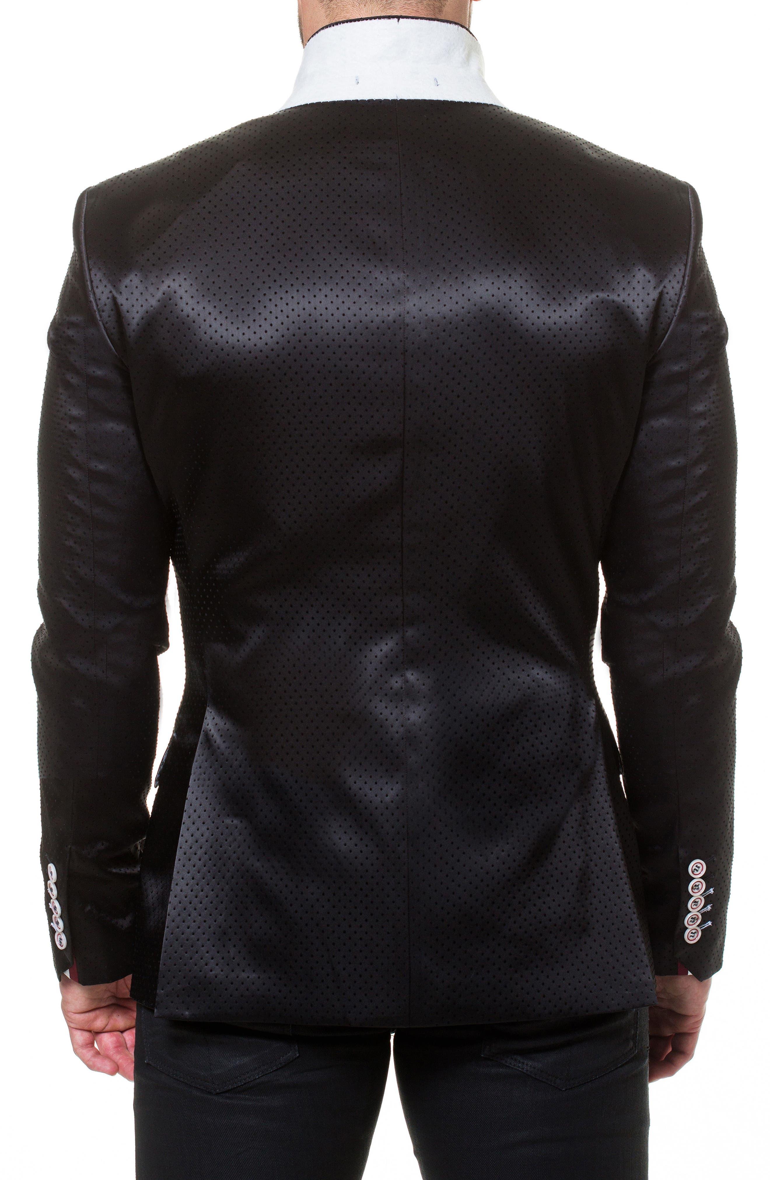 Socrate Pop Sport Coat,                             Alternate thumbnail 3, color,                             Black