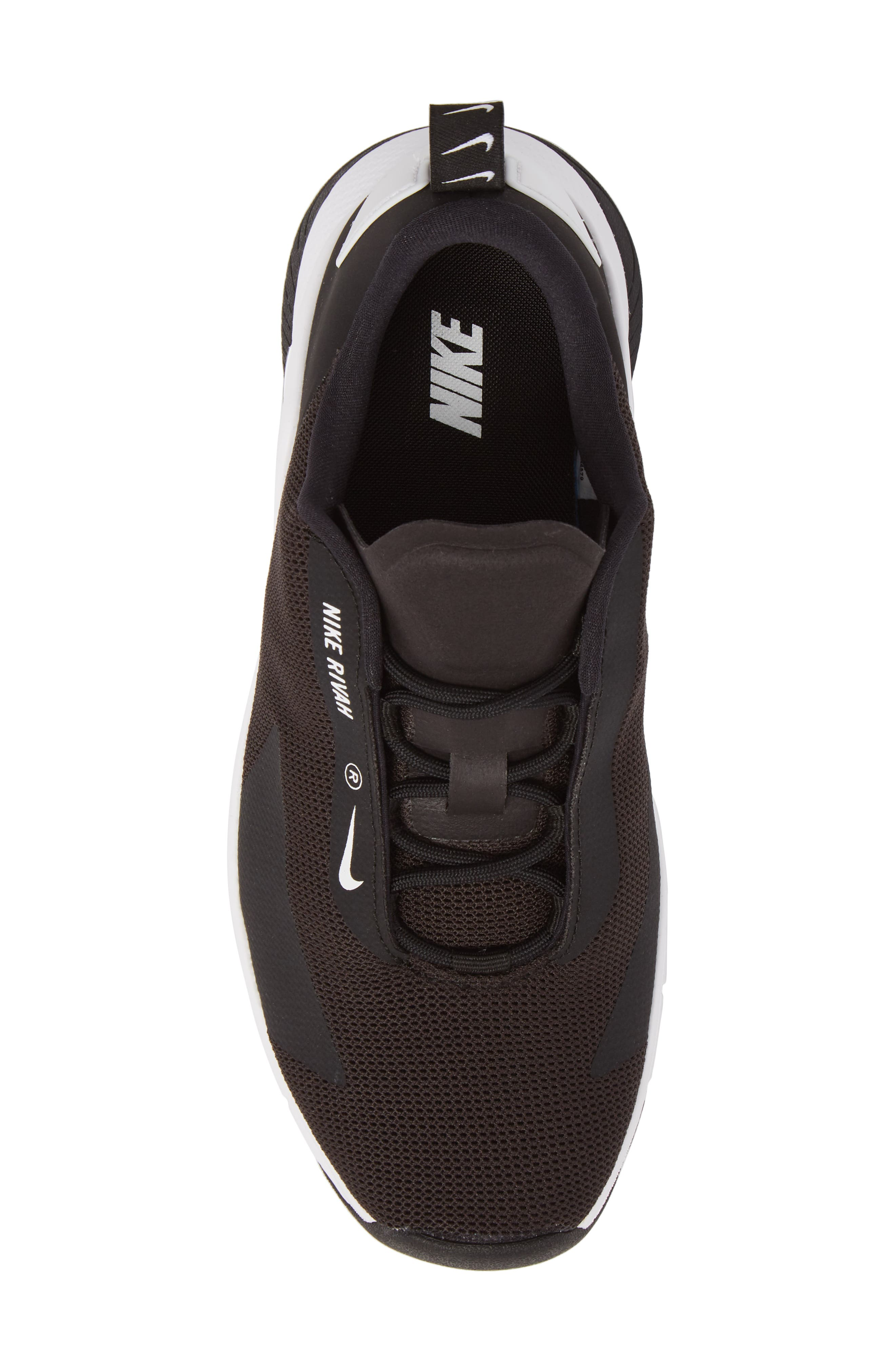 Rivah Sneaker,                             Alternate thumbnail 5, color,                             Black/ Black/ White