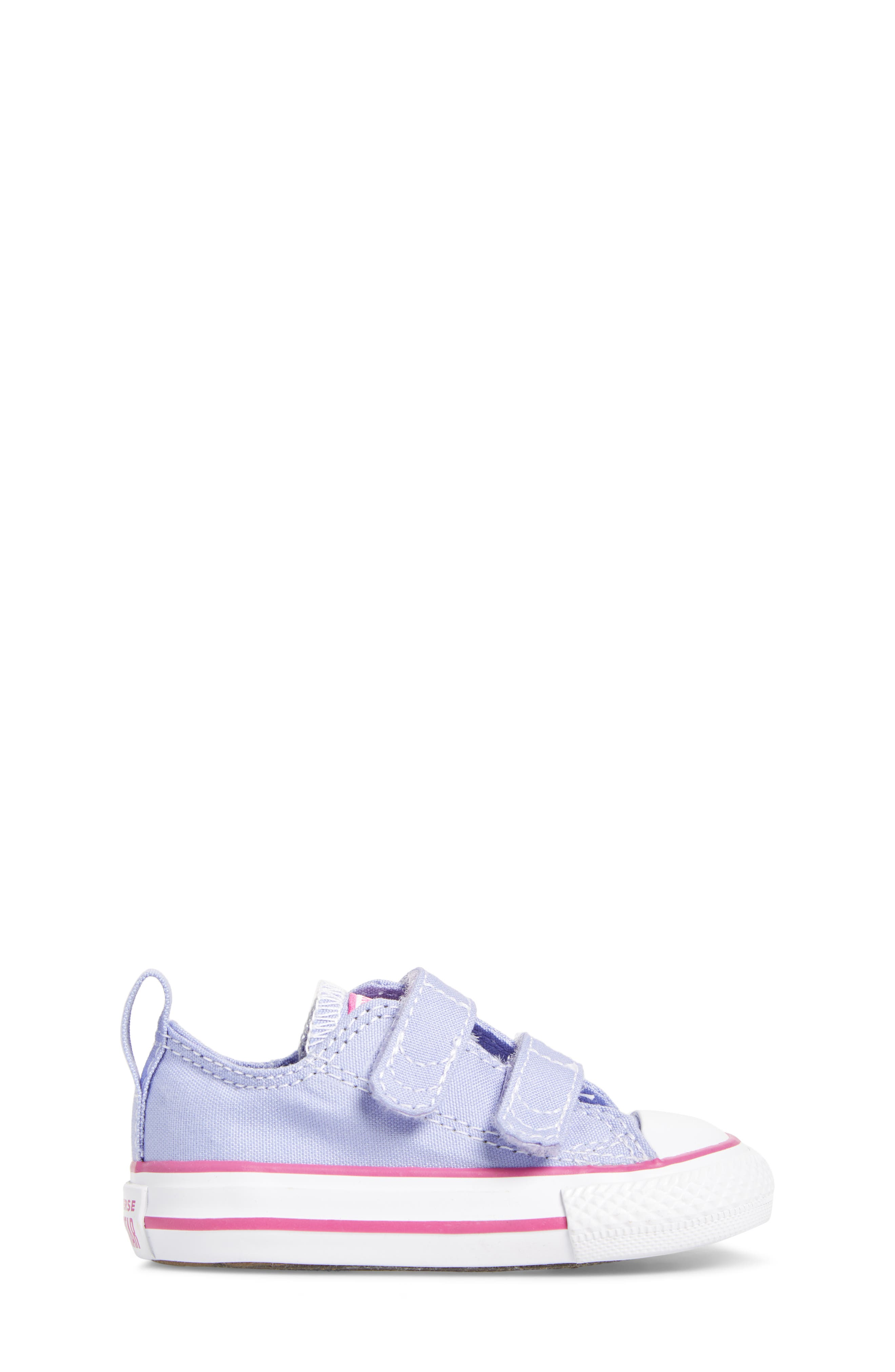 All Star<sup>®</sup> 2V Low Top Sneaker,                             Alternate thumbnail 3, color,                             Twilight Purple