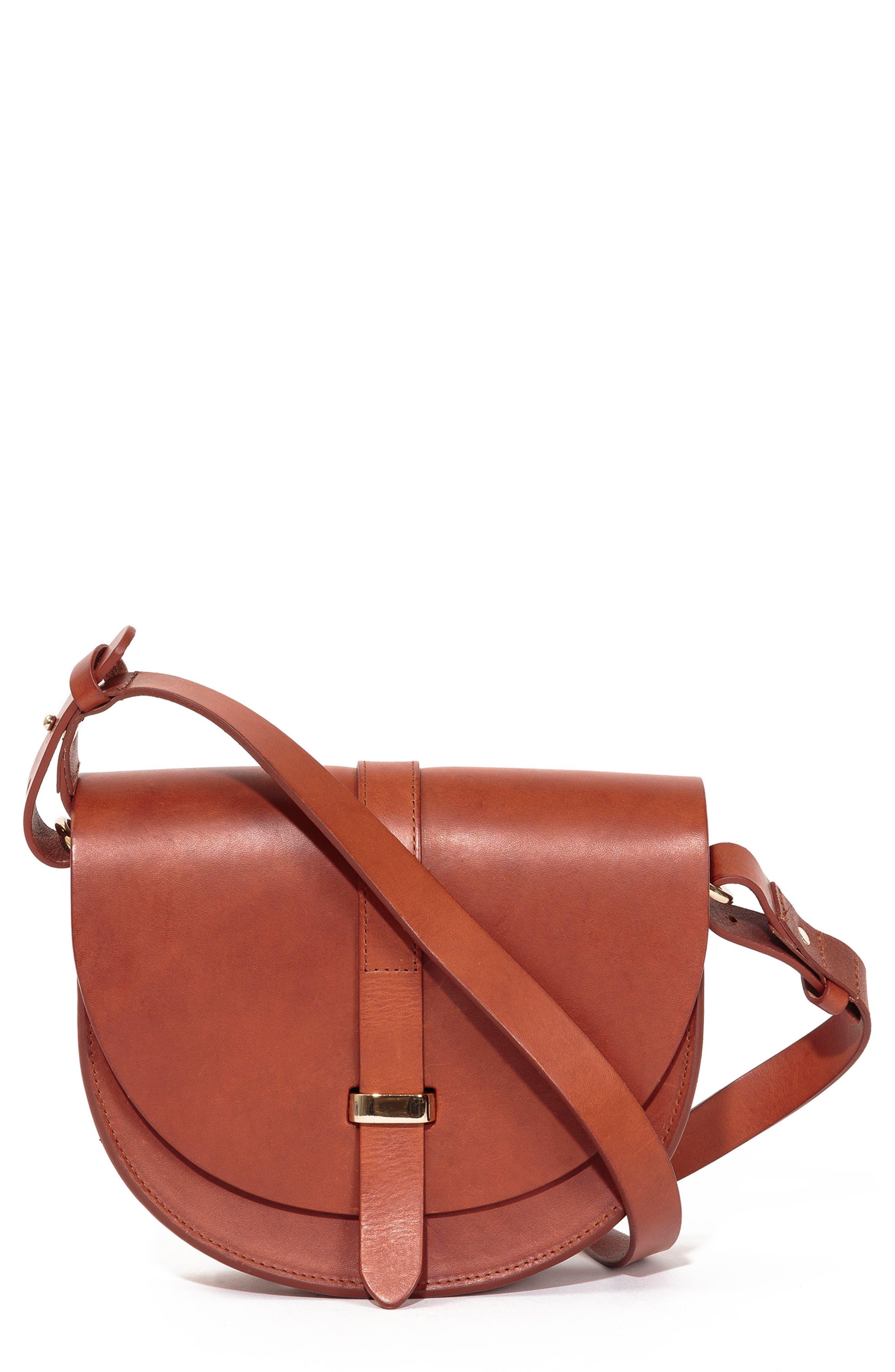 Claude Crossbody Bag,                             Main thumbnail 1, color,                             Chocolate