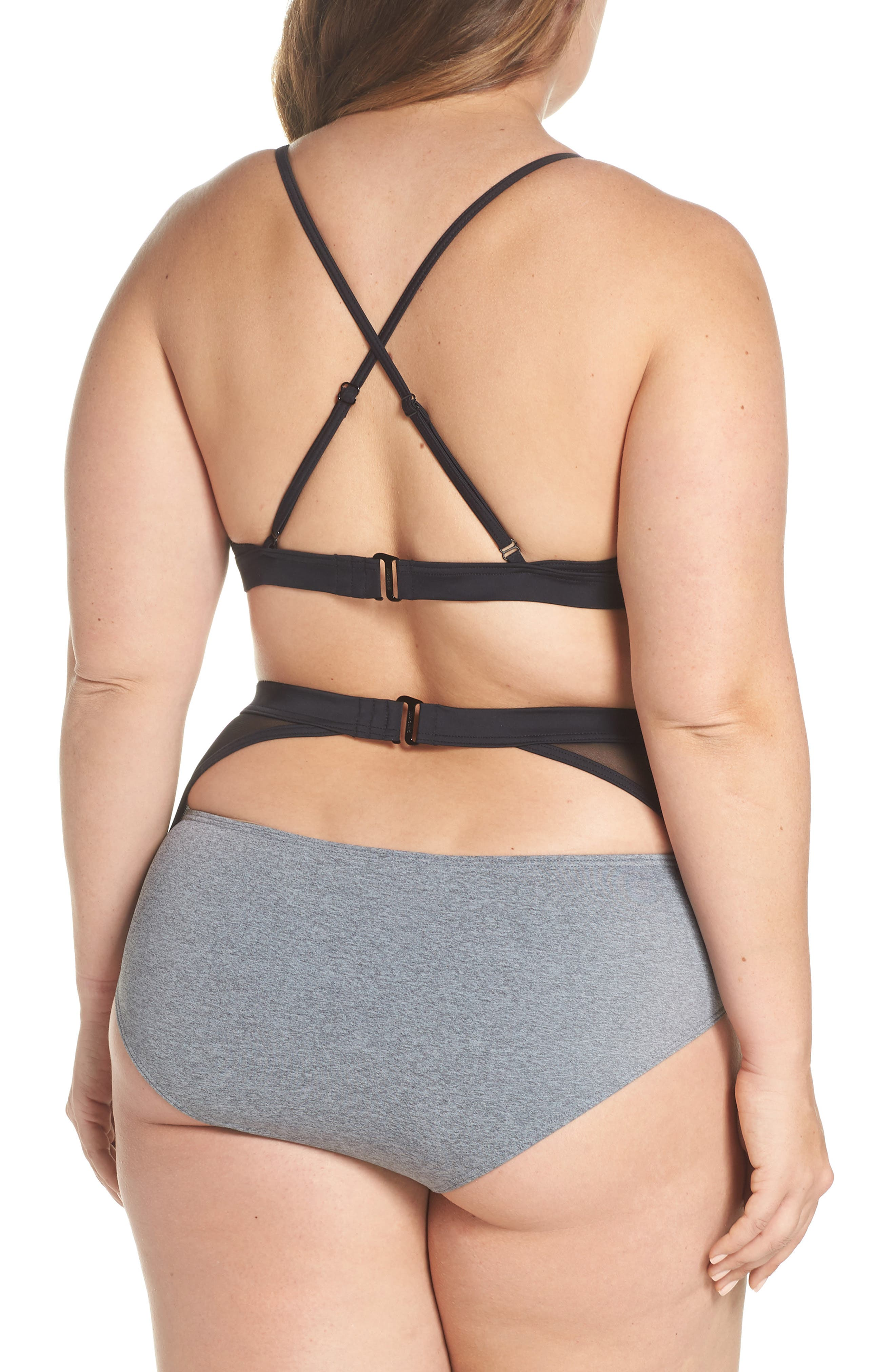 Alva Bikini Top,                             Alternate thumbnail 13, color,                             Heather Grey