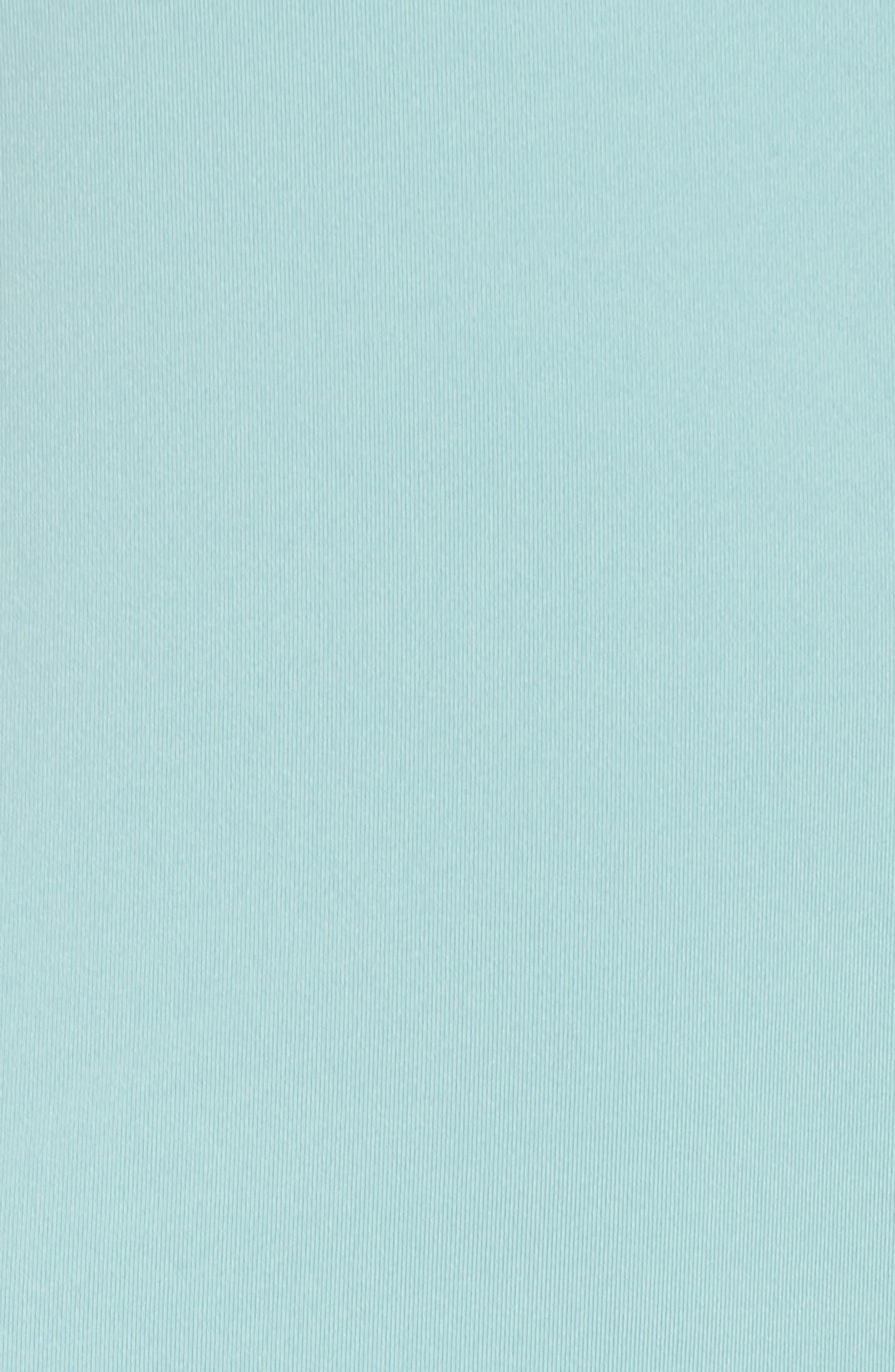 Realized Long Sleeve Tee,                             Alternate thumbnail 6, color,                             Teal Aquifer