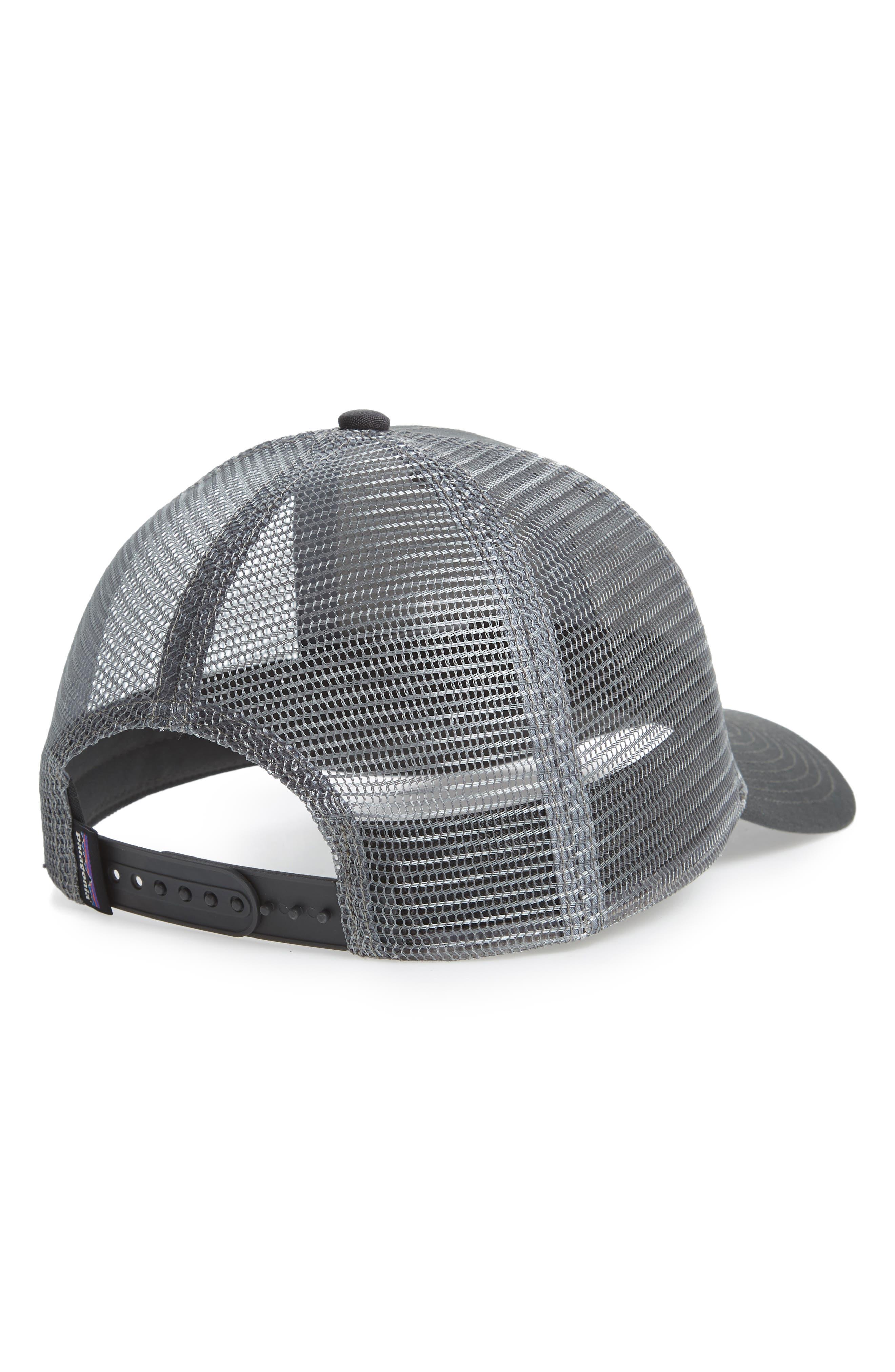 Shop Sticker Trucker Hat,                             Alternate thumbnail 2, color,                             Forge Grey