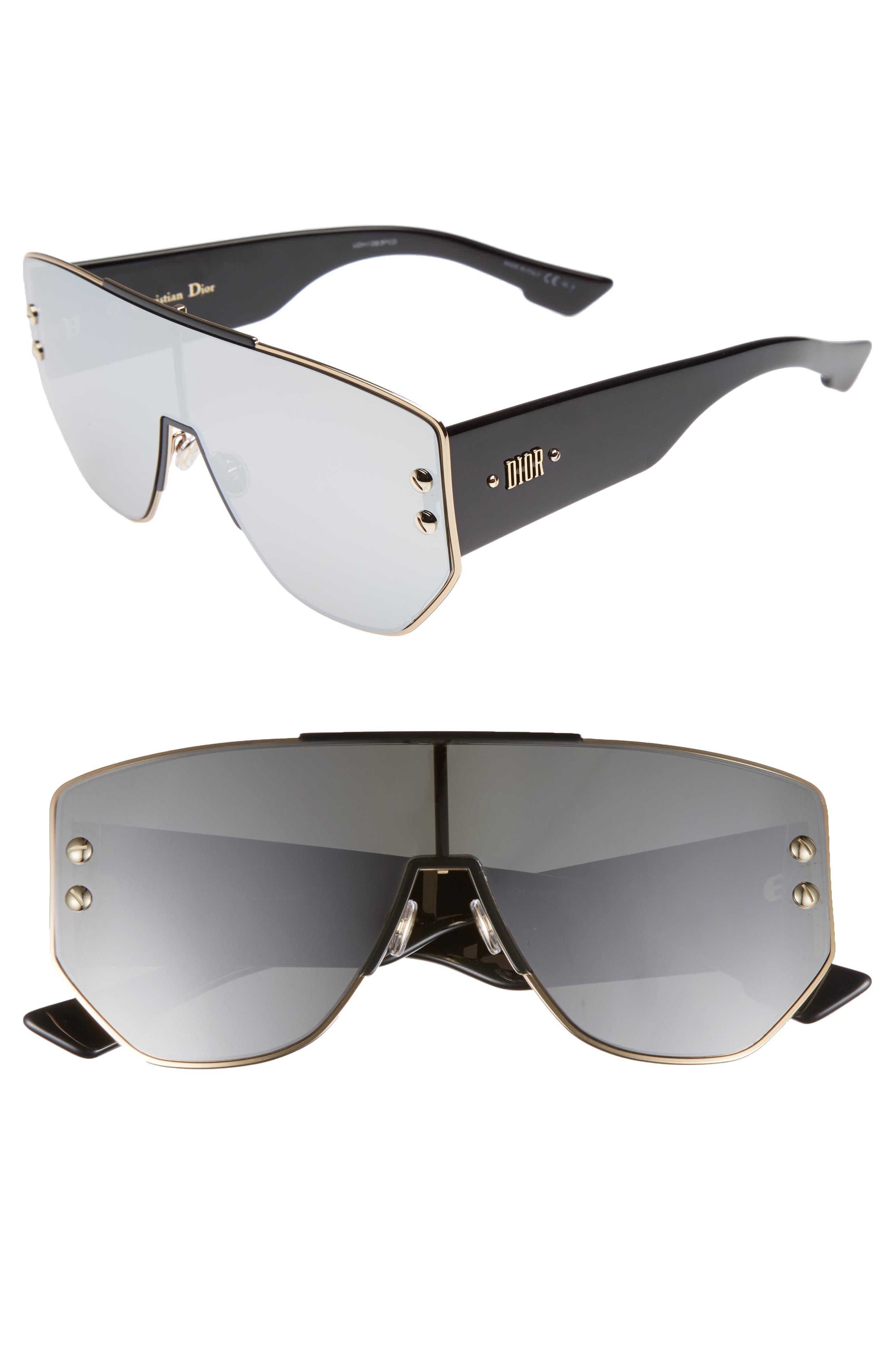 Dior 72mm Rimless Shield Sunglasses
