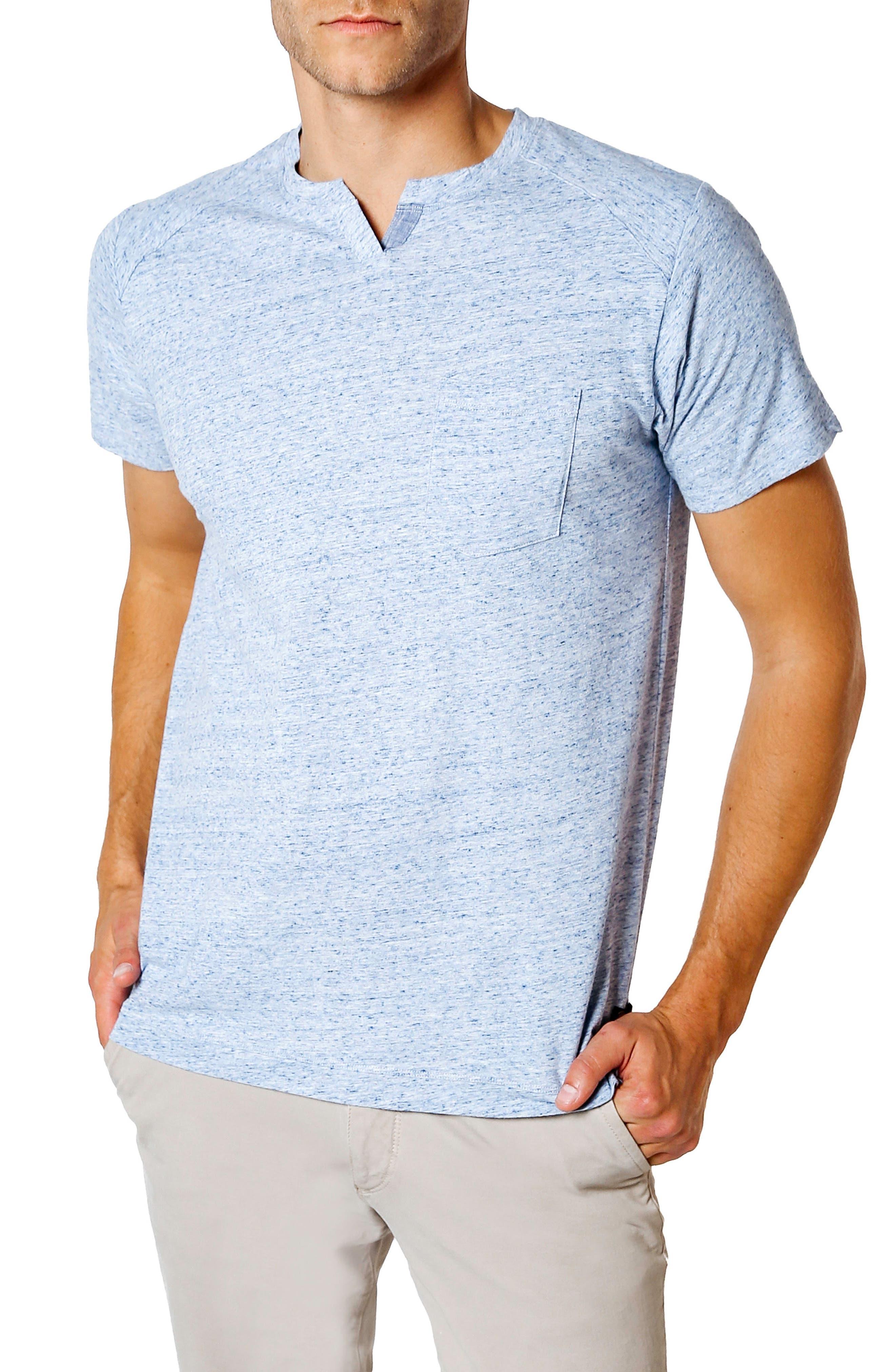 Slim Fit T-Shirt,                         Main,                         color, Blue Heather