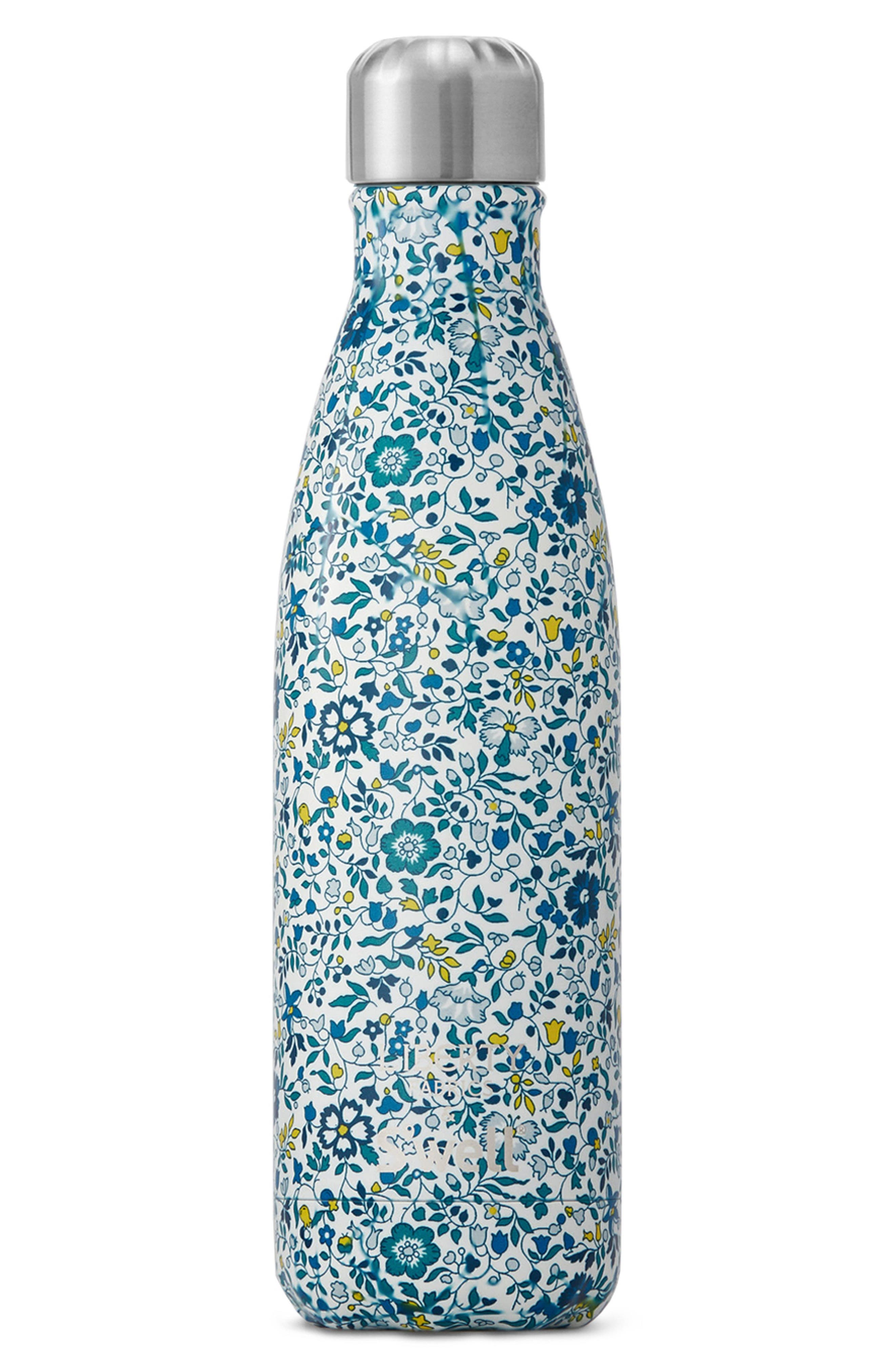 Liberty Fabrics Katie and Millie Stainless Steel Water Bottle,                             Main thumbnail 1, color,                             Katie/ Millie