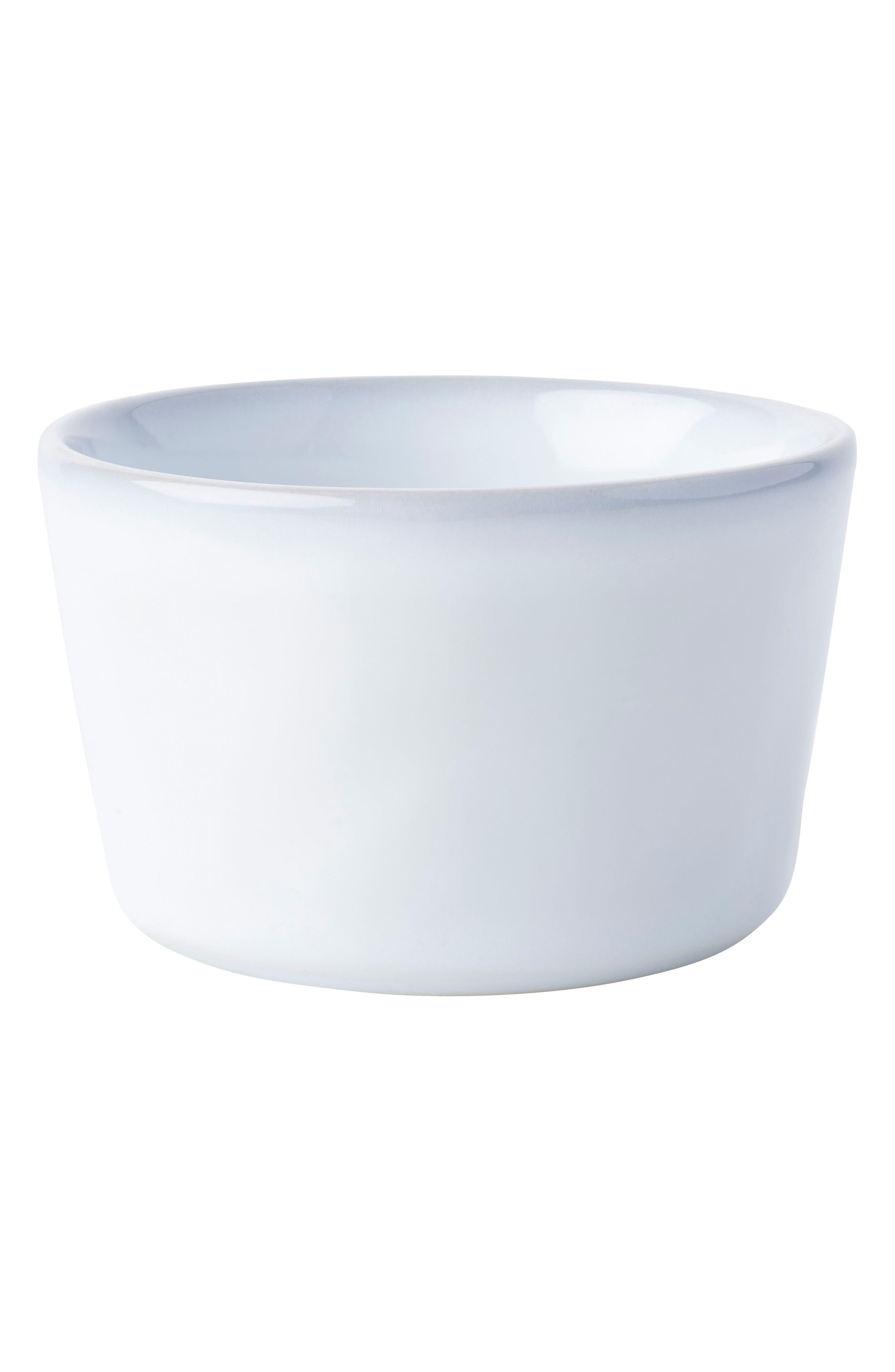 Quotidien White Truffle Ceramic Ramekin,                             Main thumbnail 1, color,                             White Truffle