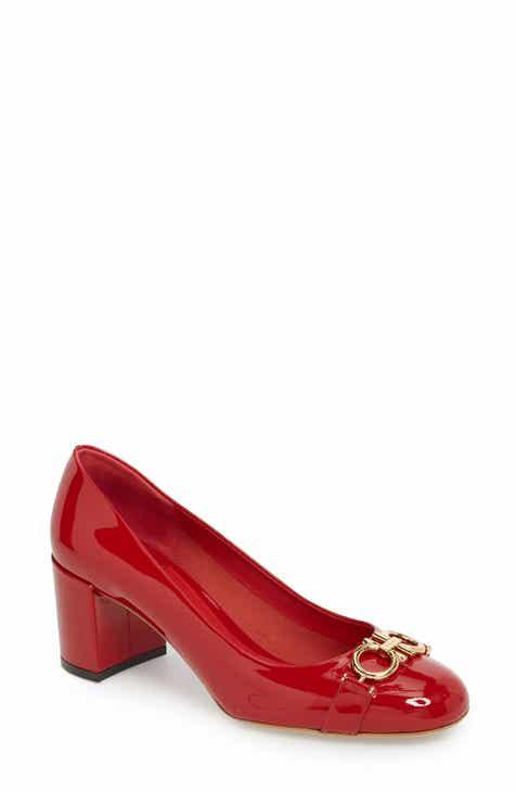 Salvatore Ferragamo Garda Block Heel Pump (Women) 720fec3073686