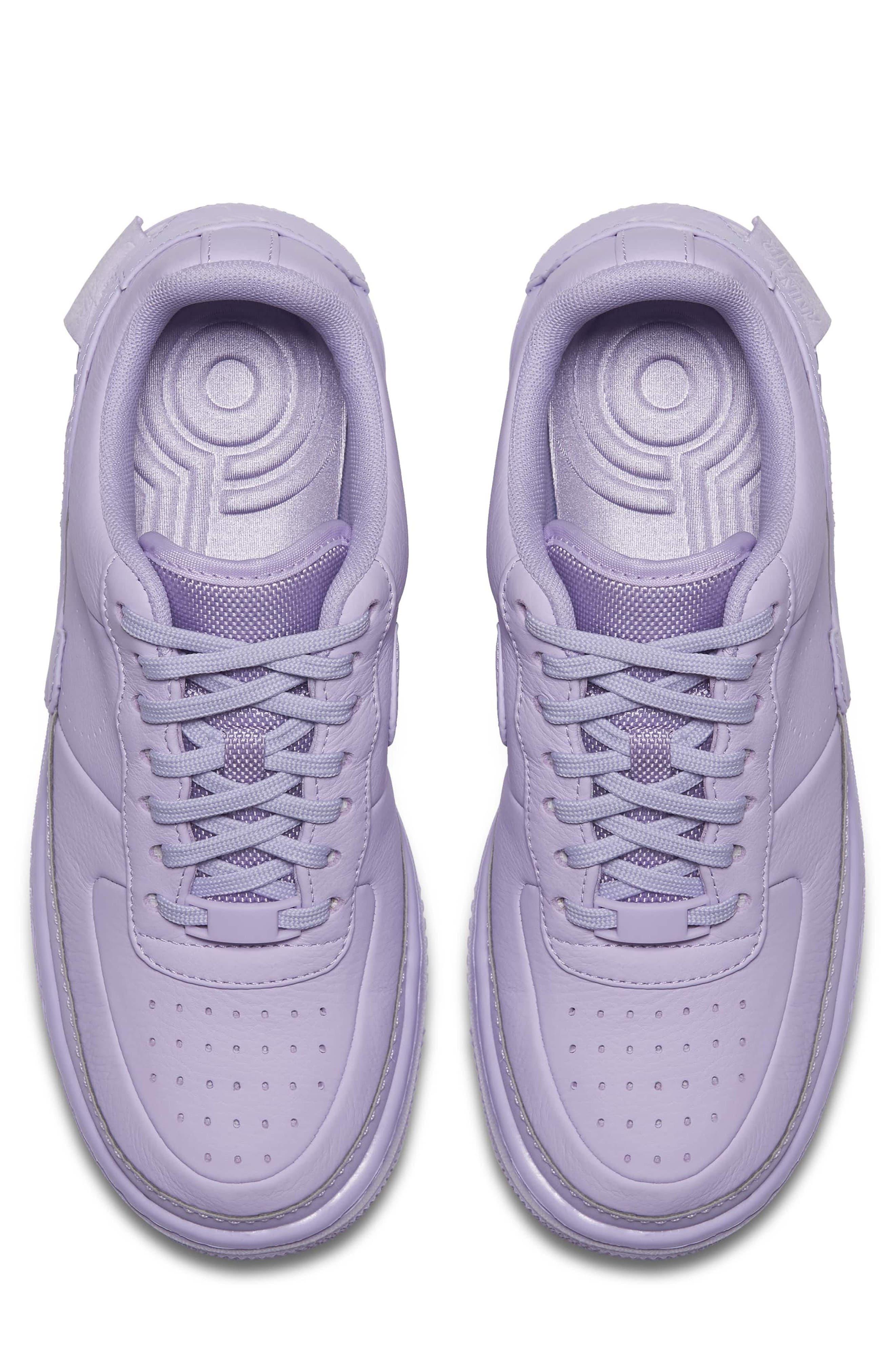 Air Force 1 Jester XX Sneaker,                             Alternate thumbnail 4, color,                             Violet Mist