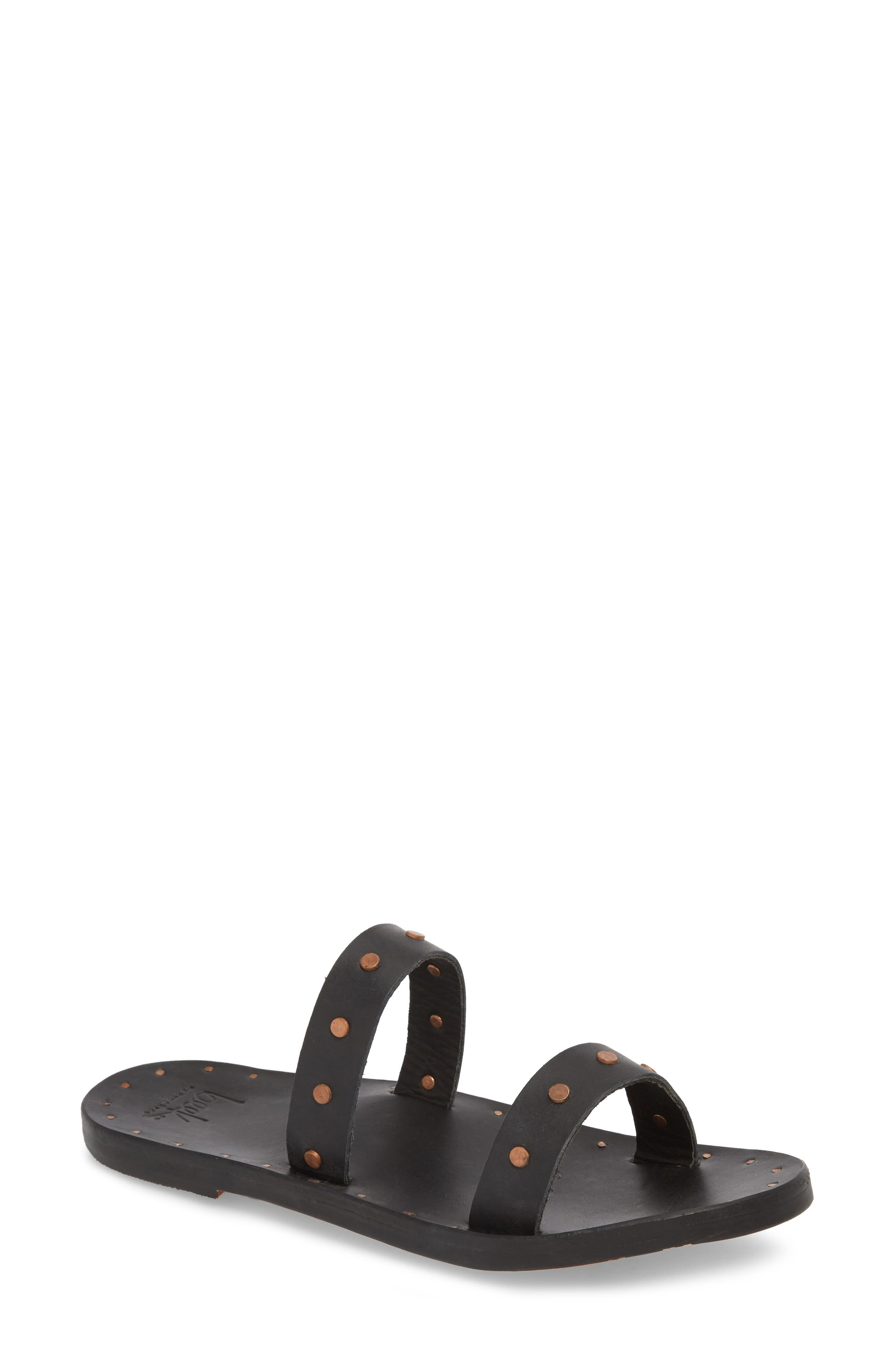 Beek Woodpecker Studded Slide Sandal (Women)