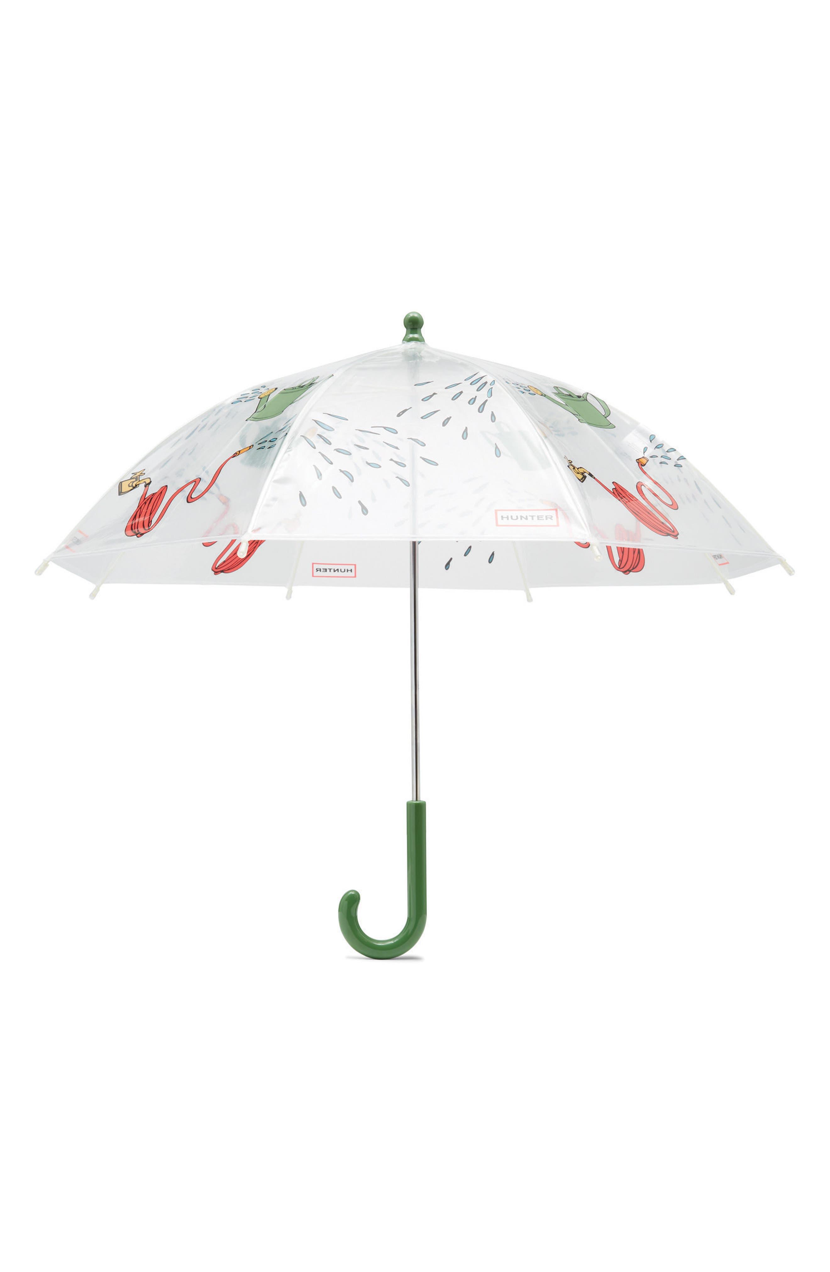 Watering Can Umbrella,                         Main,                         color, Gardening Print