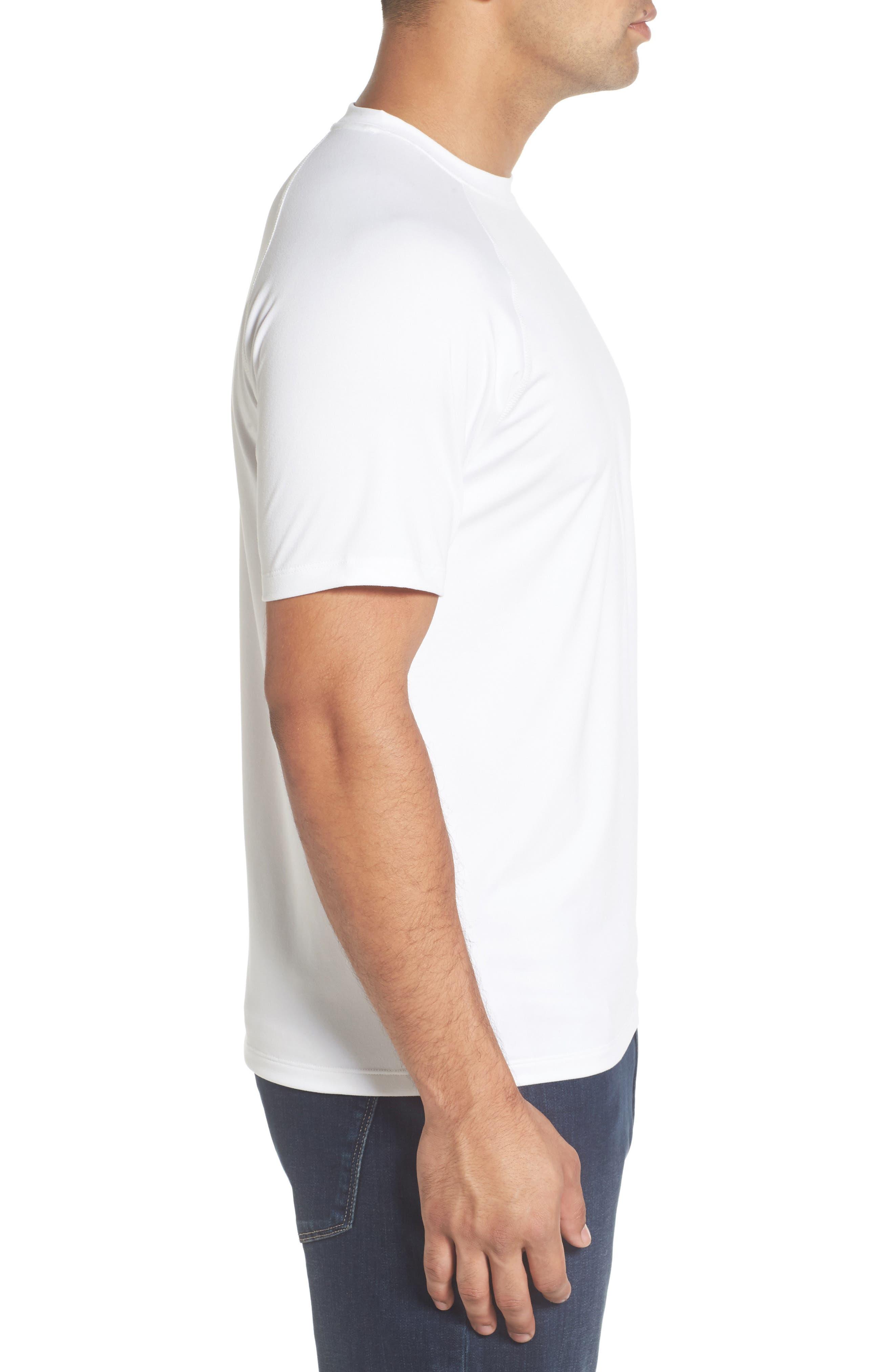 Rio Technical T-Shirt,                             Alternate thumbnail 3, color,                             White