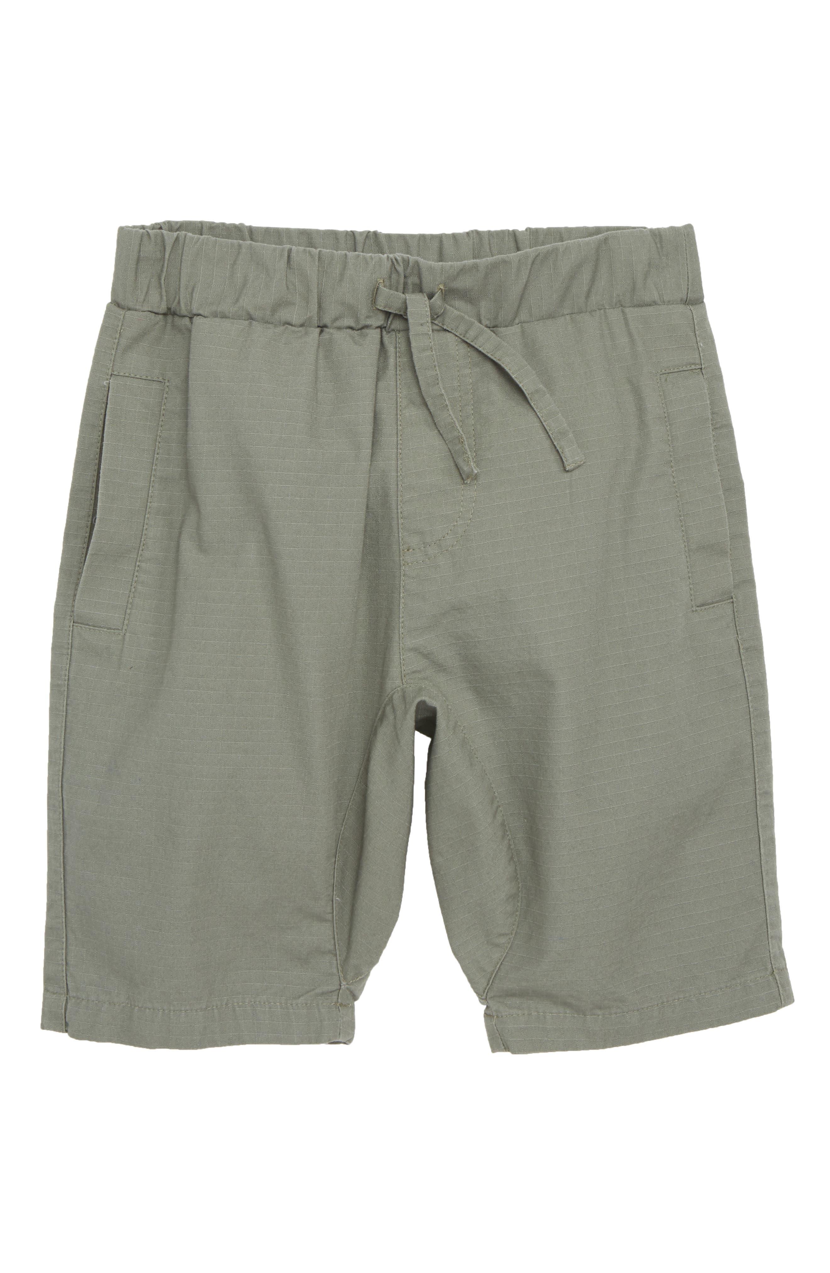 Ripstop Shorts,                         Main,                         color, Green Agave